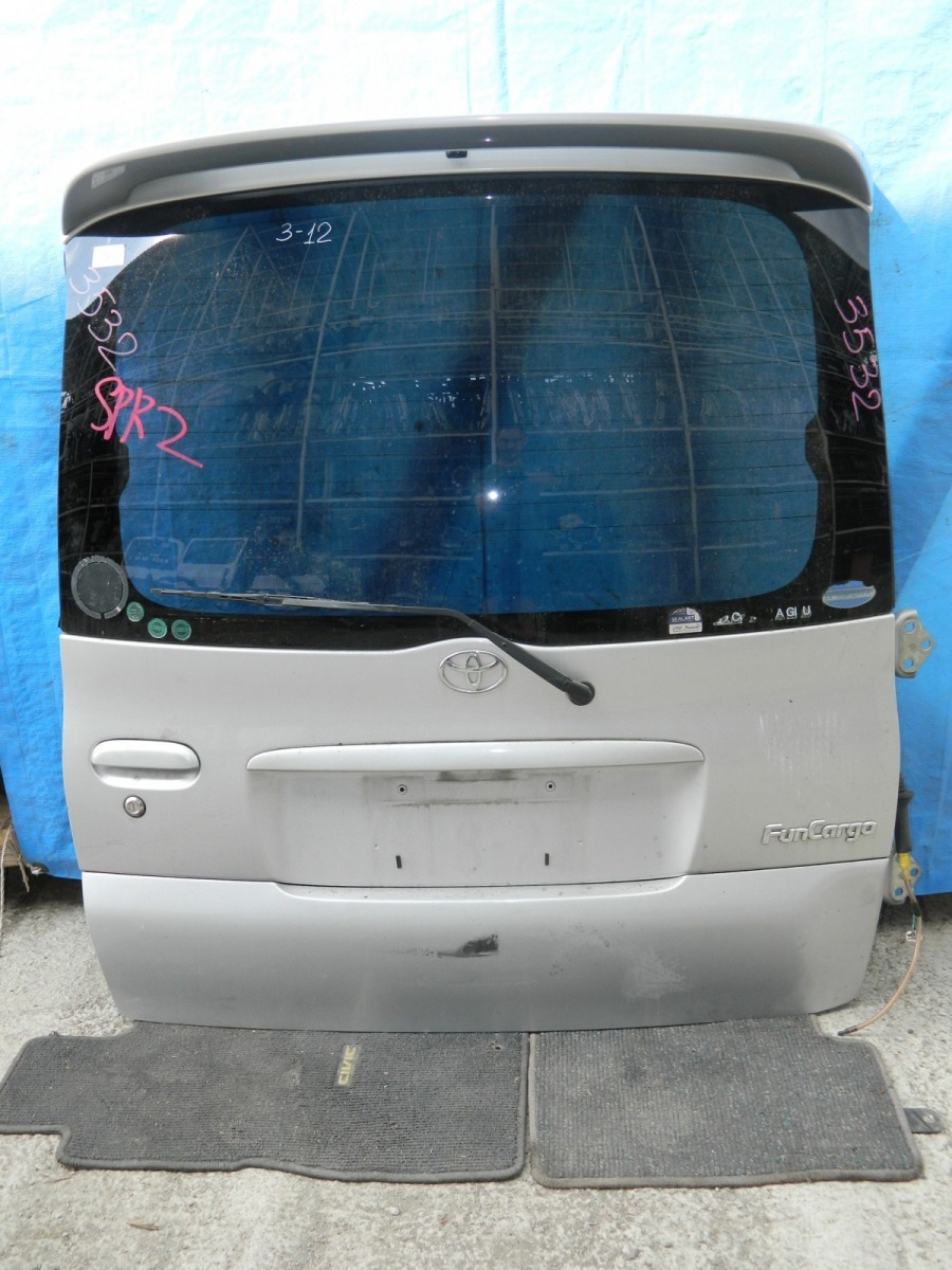 Дверь 5-я Toyota Funcargo NCP20 (б/у)