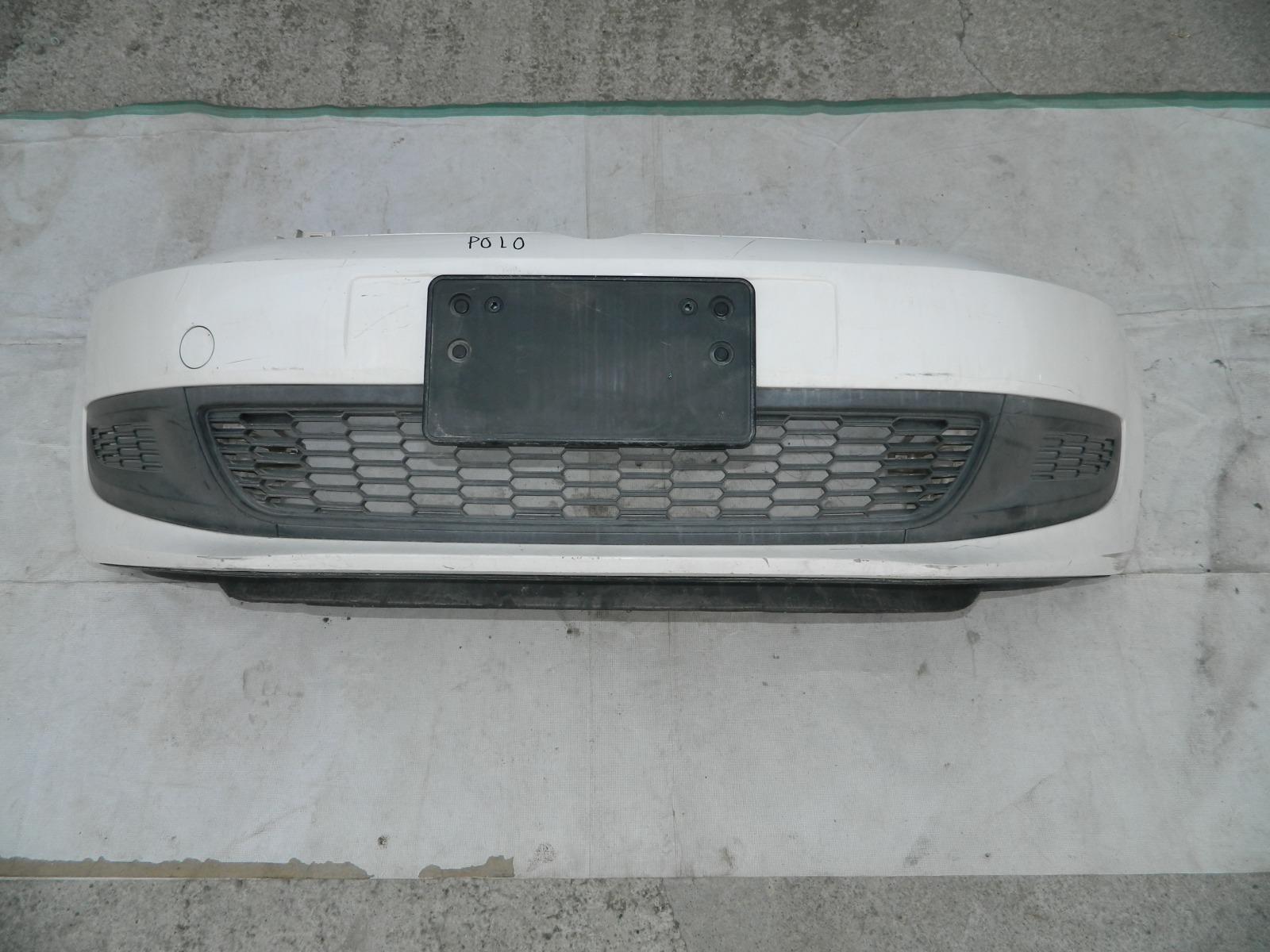 Бампер Volkswagen Polo 6R1 CGG передний (б/у)