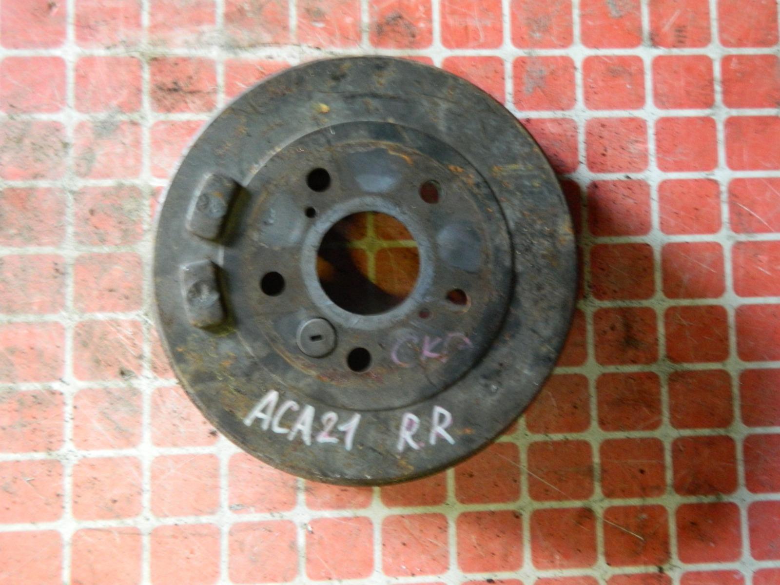 Тормозной барабан Toyota Rav4 ACA21 задний (б/у)