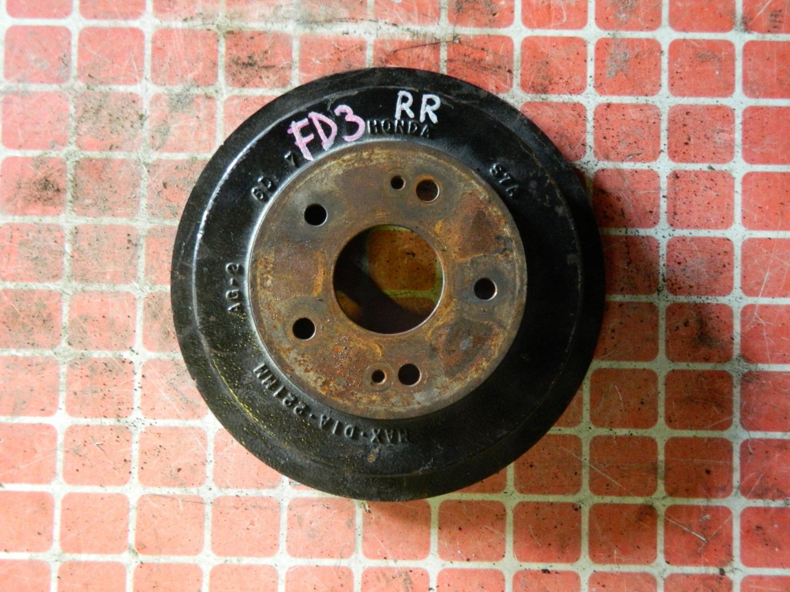 Тормозной барабан Honda Civic FD3 задний (б/у)
