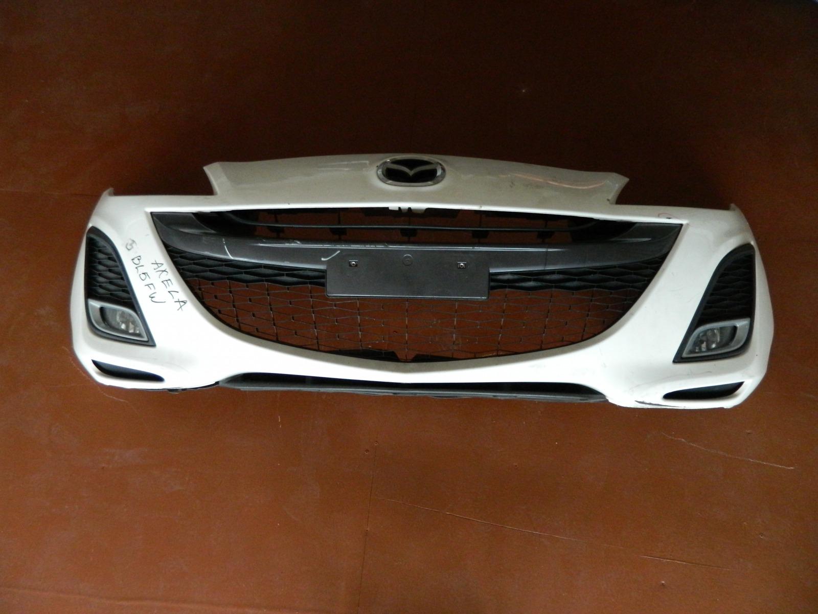 Бампер Mazda Axela BL5FW ZY-VE передний (б/у)
