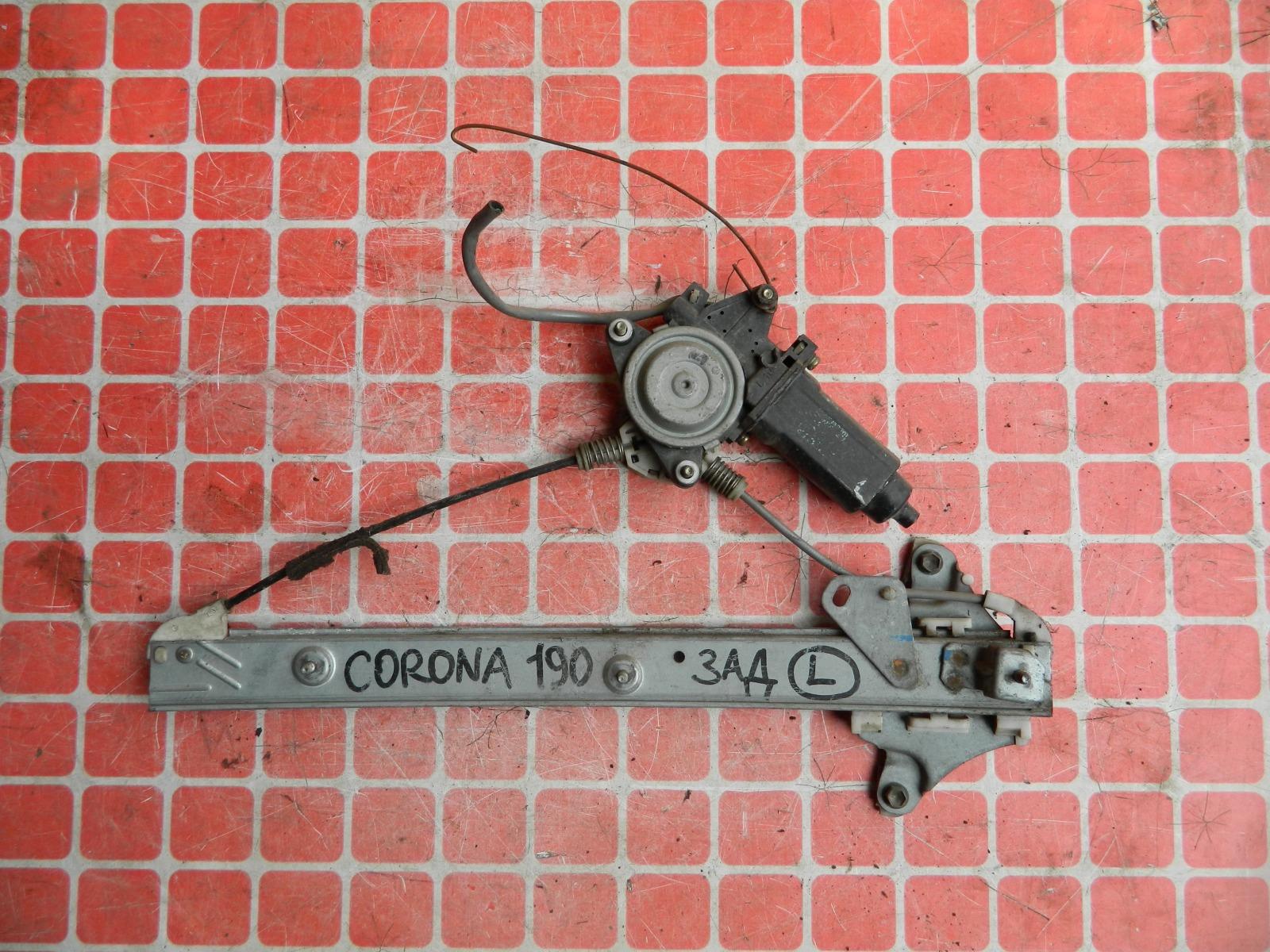 Стеклоподъемник Toyota Corona AT190 задний левый (б/у)