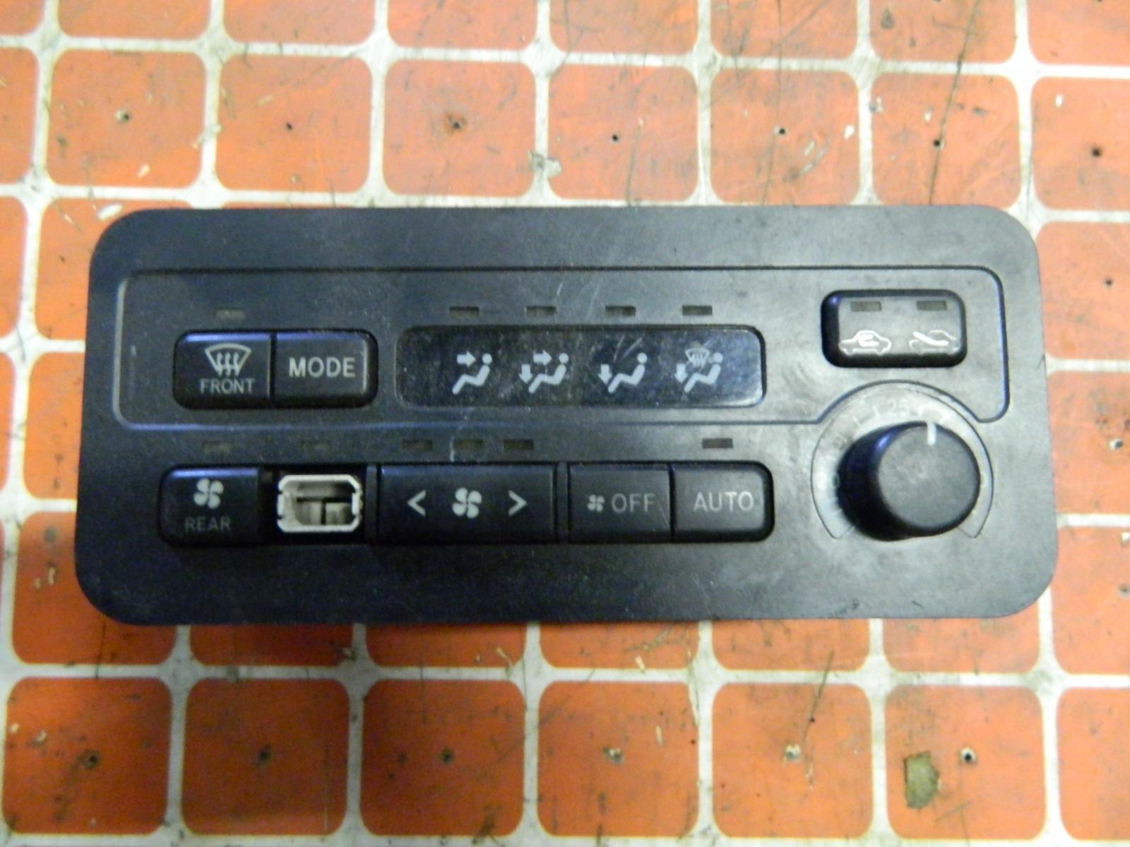 Блок управления климат-контролем Toyota Noah SR40 (б/у)