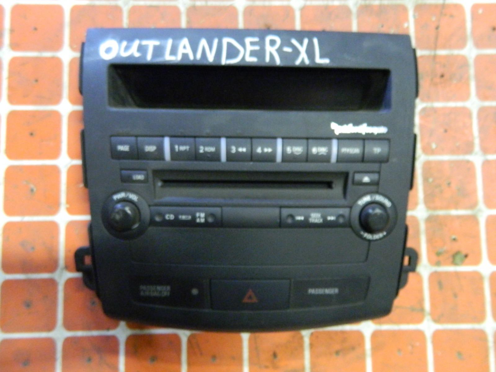 Штатная магнитола Mitsubishi Outlander Xl (б/у)