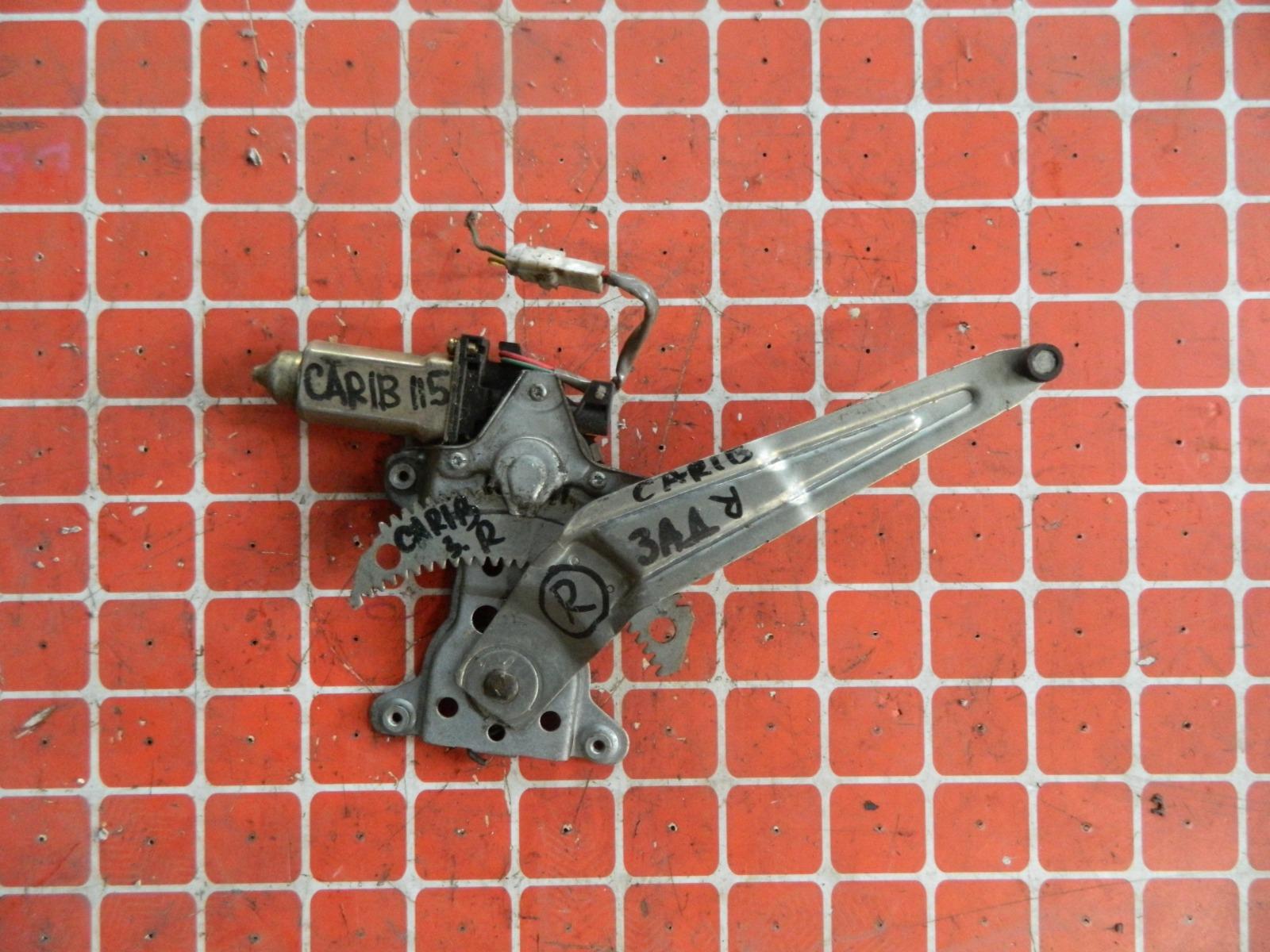Стеклоподъемник Toyota Carib AE115 задний правый (б/у)