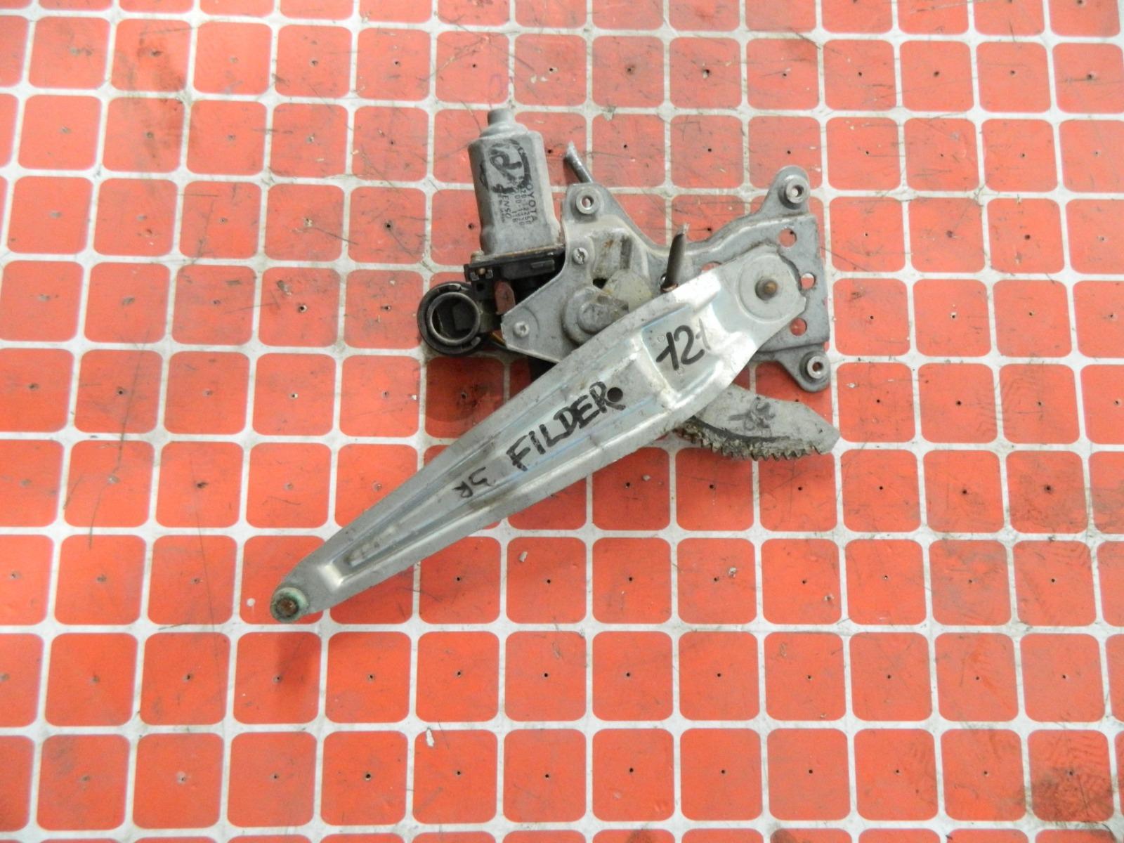 Механизм стекло-подъёмника. Toyota Corolla Fielder NZE121 задний правый (б/у)