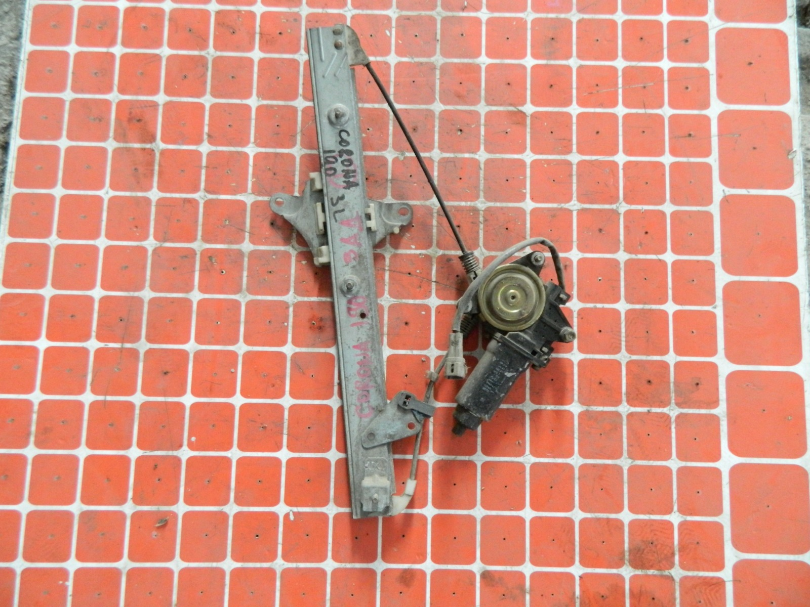 Механизм стекло-подъёмника. Toyota Corona AT190 задний левый (б/у)