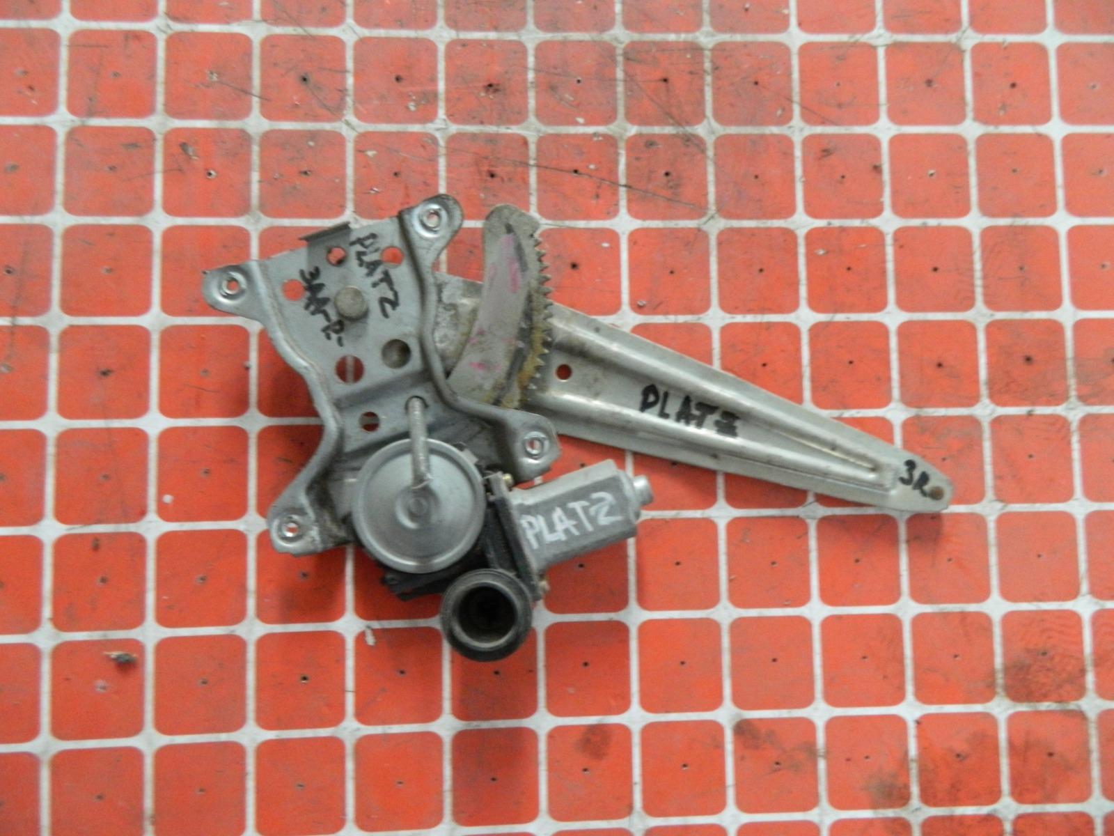 Механизм стекло-подъёмника. Toyota Platz NCP12 задний правый (б/у)