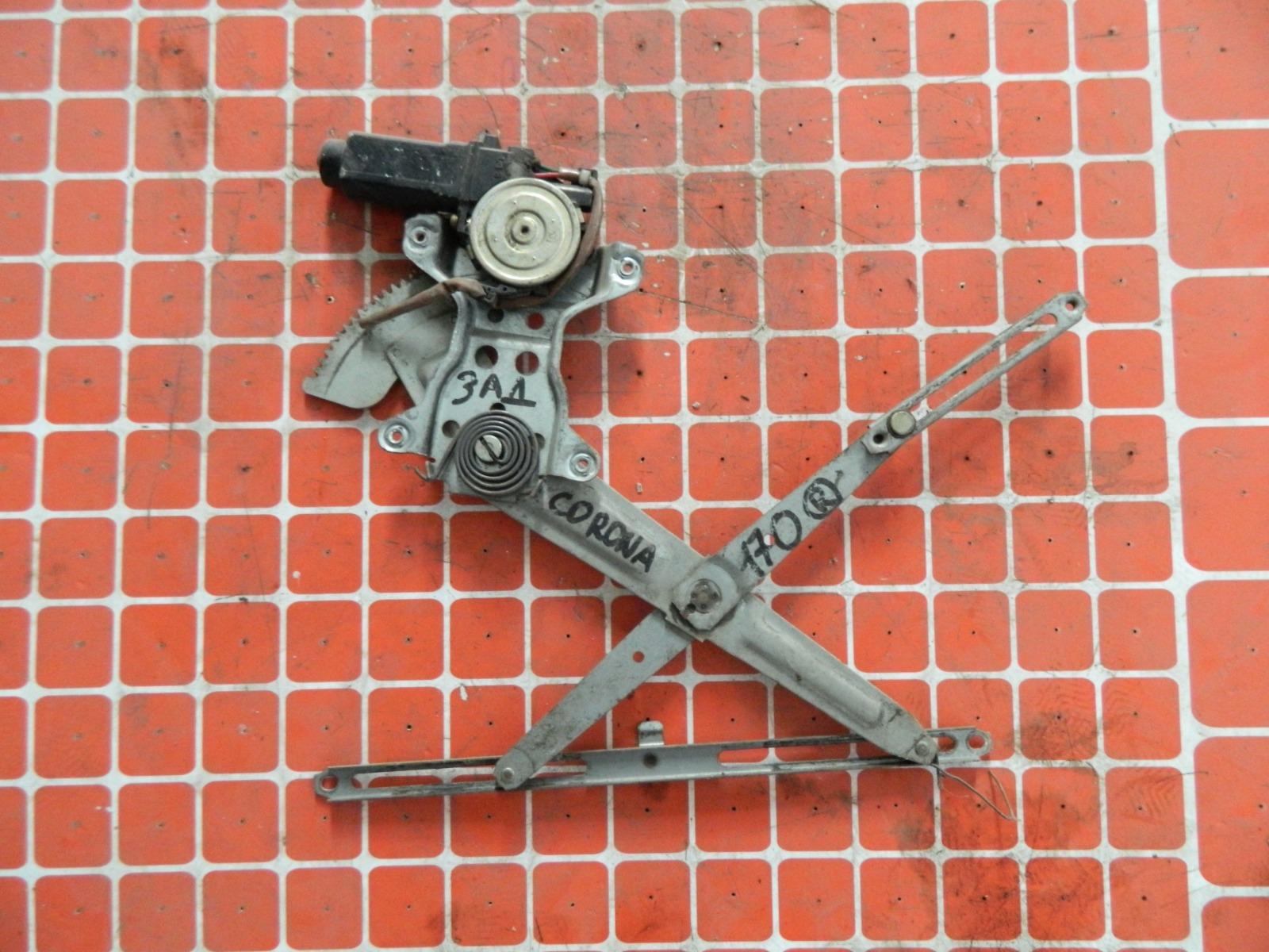 Механизм стекло-подъёмника. Toyota Corona AT170 задний правый (б/у)