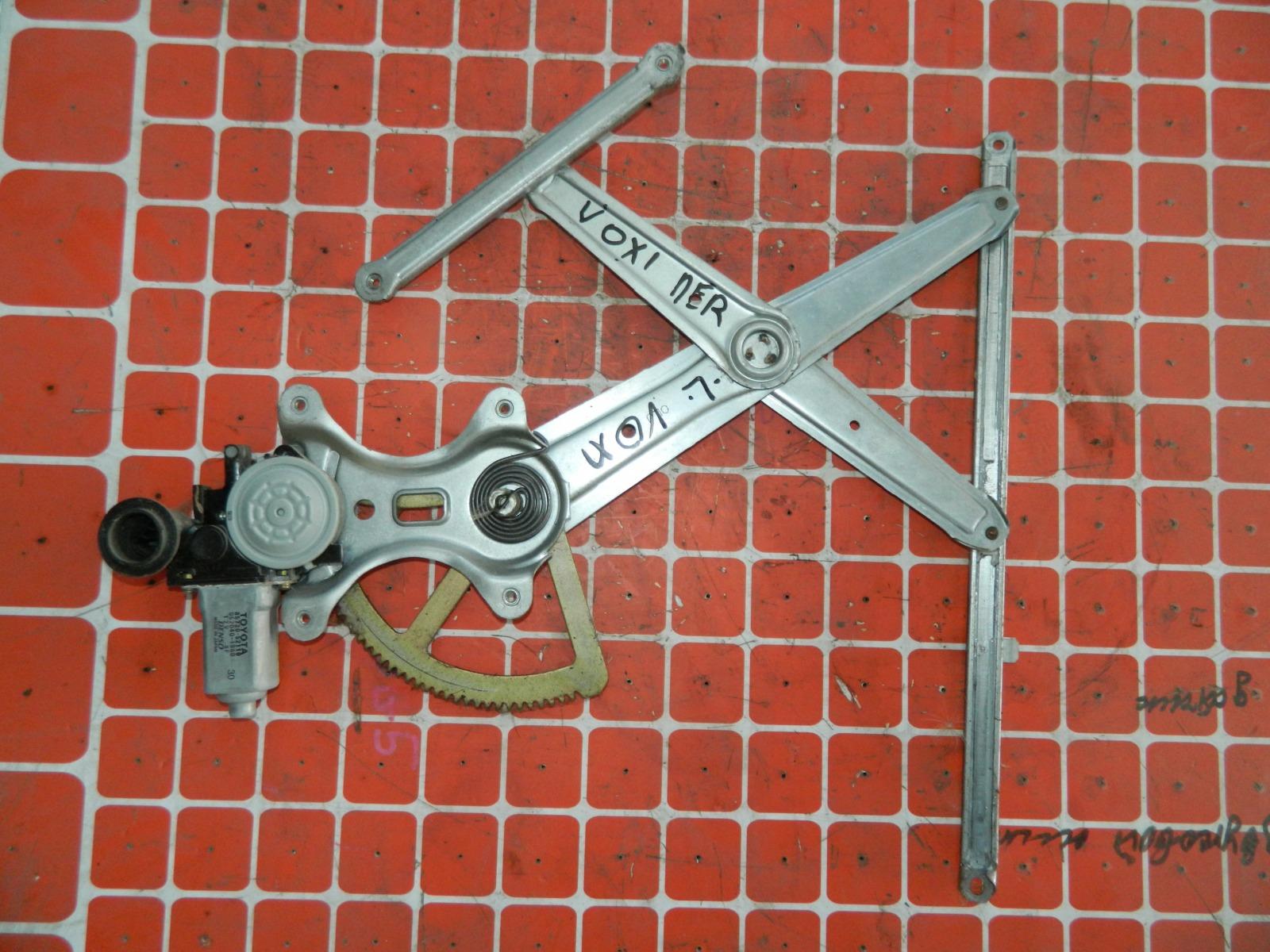 Механизм стекло-подъёмника. Toyota Voxy передний левый (б/у)