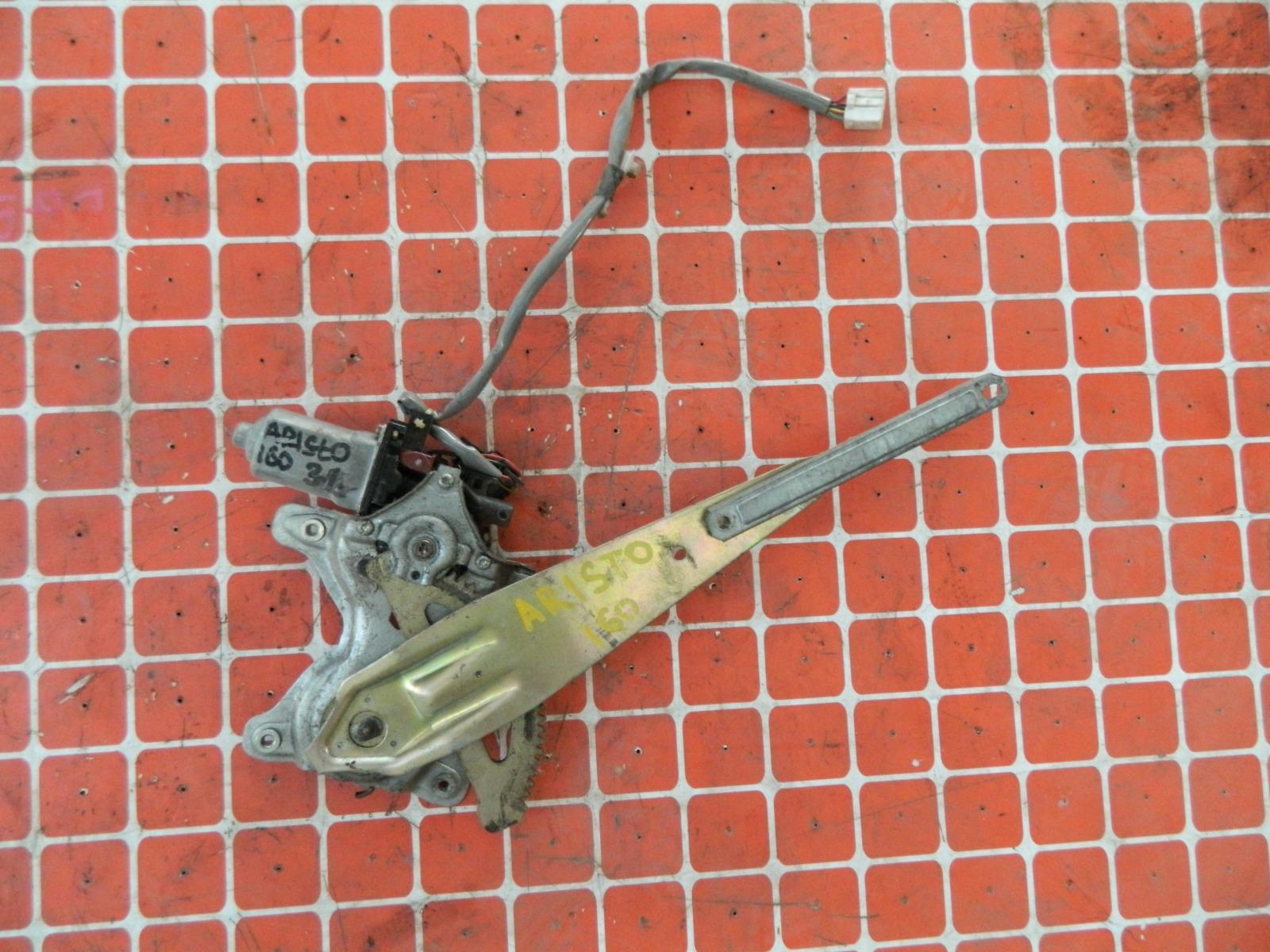 Механизм стекло-подъёмника. Toyota Aristo JZ160 задний левый (б/у)