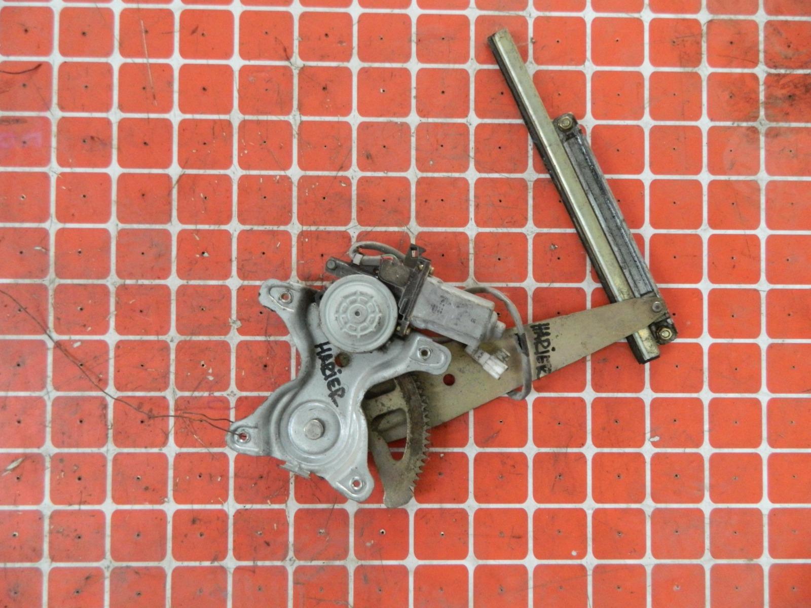 Механизм стекло-подъёмника. Toyota Harrier MCU10 задний левый (б/у)