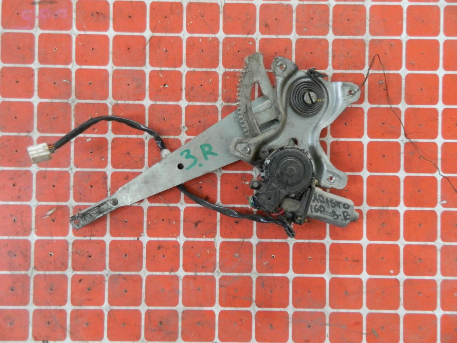 Механизм стекло-подъёмника. Toyota Aristo JZ160 задний правый (б/у)