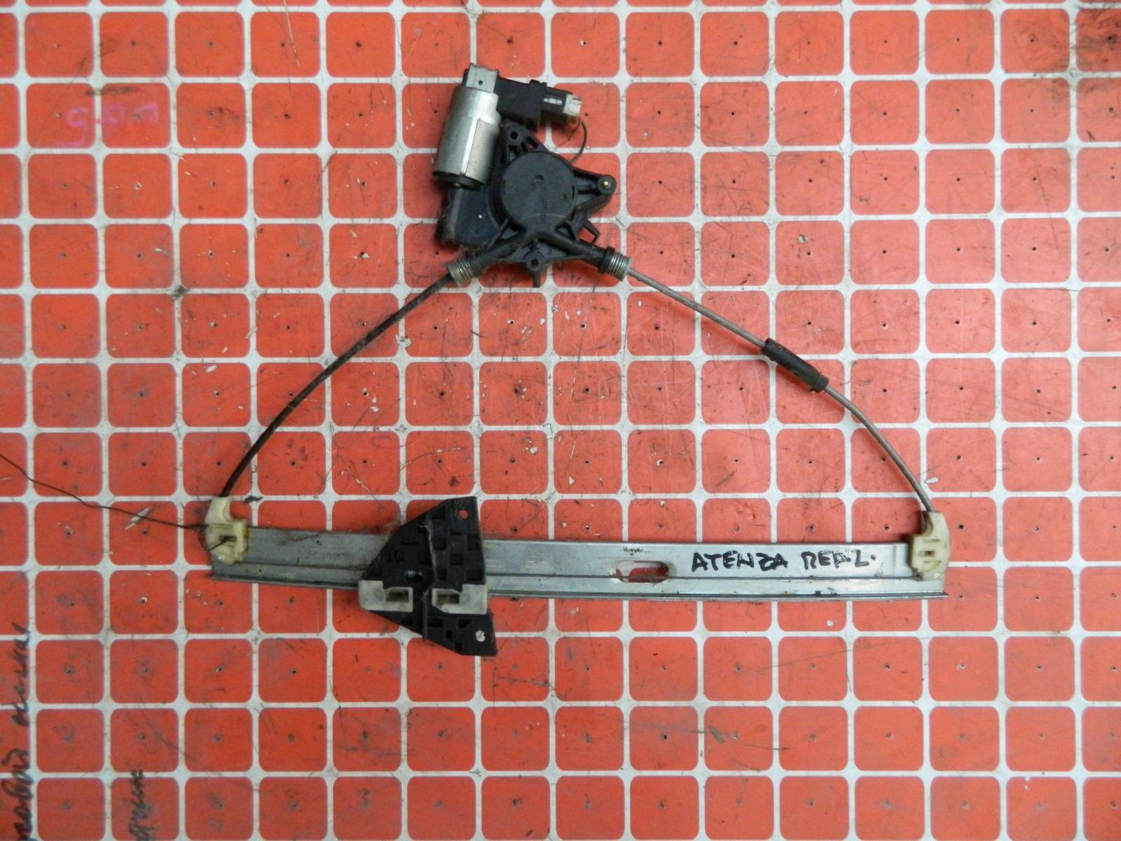 Механизм стекло-подъёмника. Mazda Atenza GG передний левый (б/у)