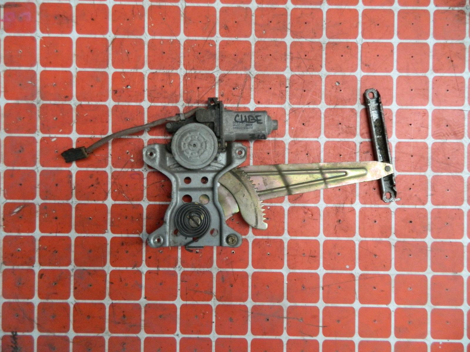 Механизм стекло-подъёмника. Nissan Cube Z10 задний левый (б/у)