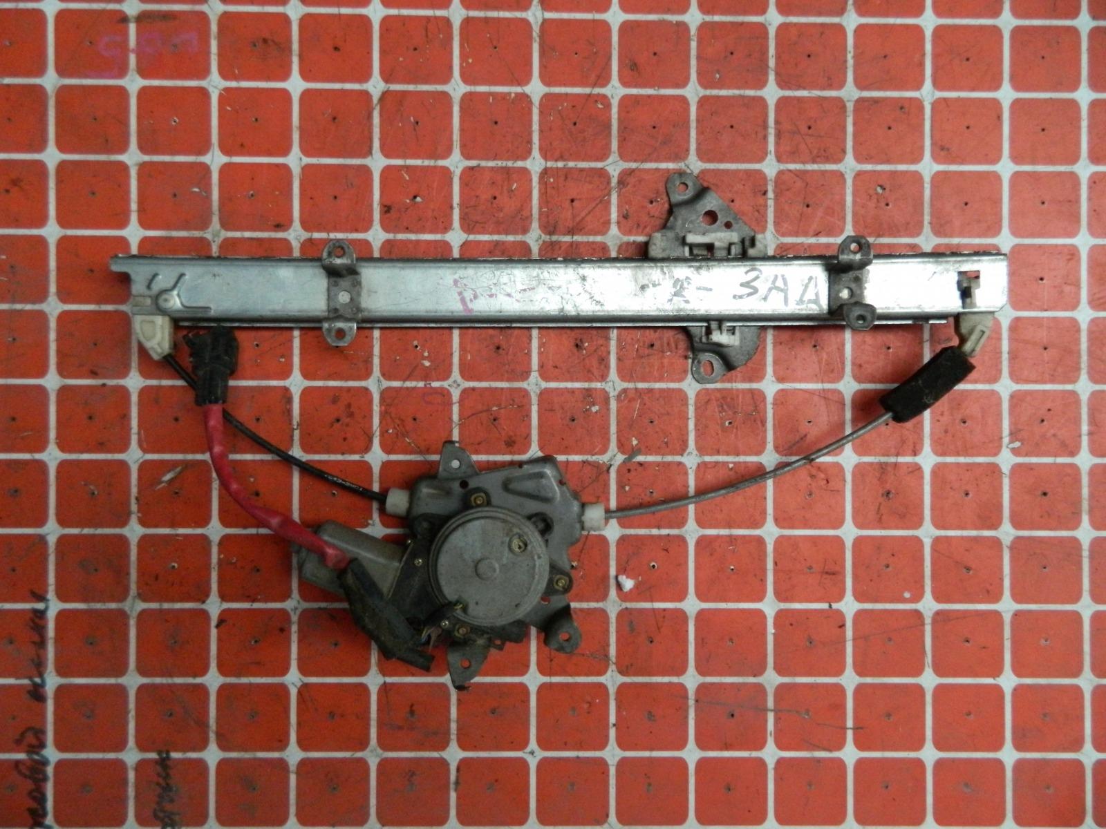 Механизм стекло-подъёмника. Nissan March K12 задний правый (б/у)