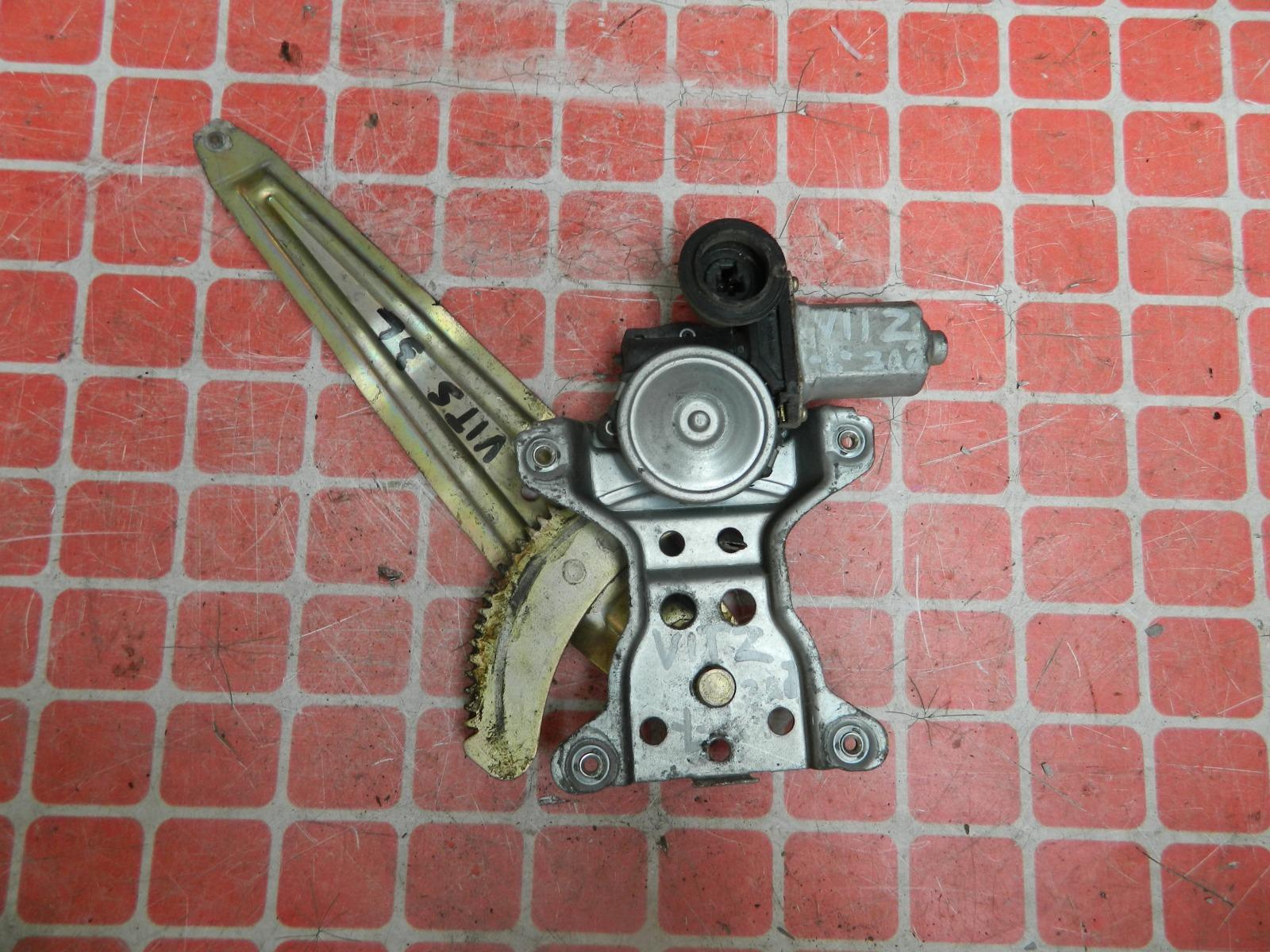 Стеклоподъемник Toyota Vitz NCP10 задний левый (б/у)
