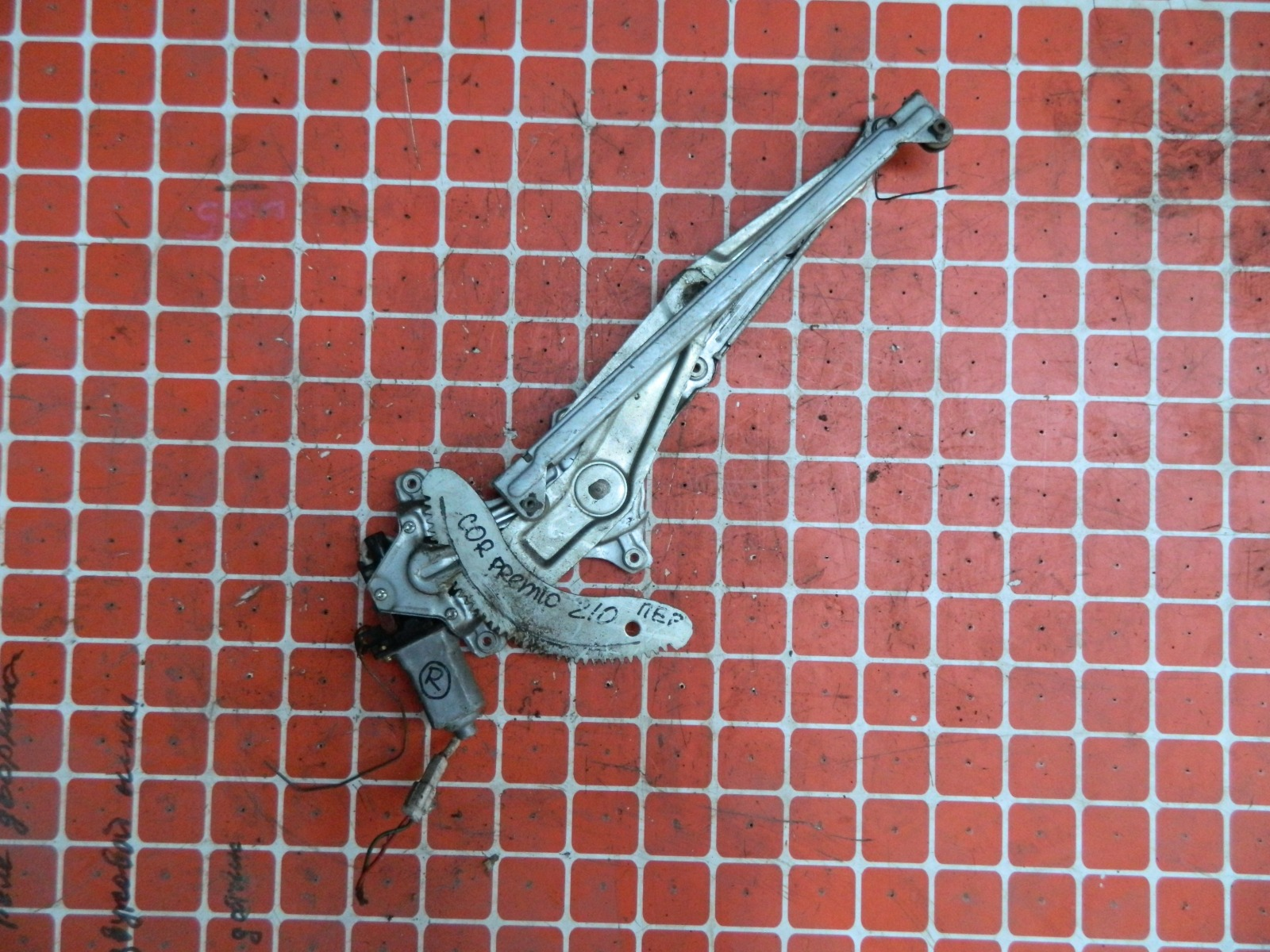 Механизм стекло-подъёмника. Toyota Corona Premio AT210 передний правый (б/у)