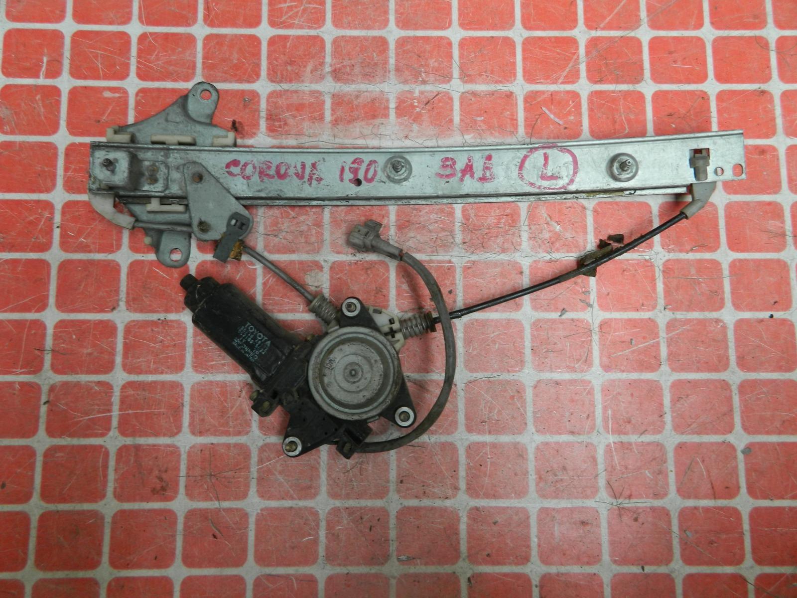 Стеклоподъемник Toyota Corona ST190 задний левый (б/у)