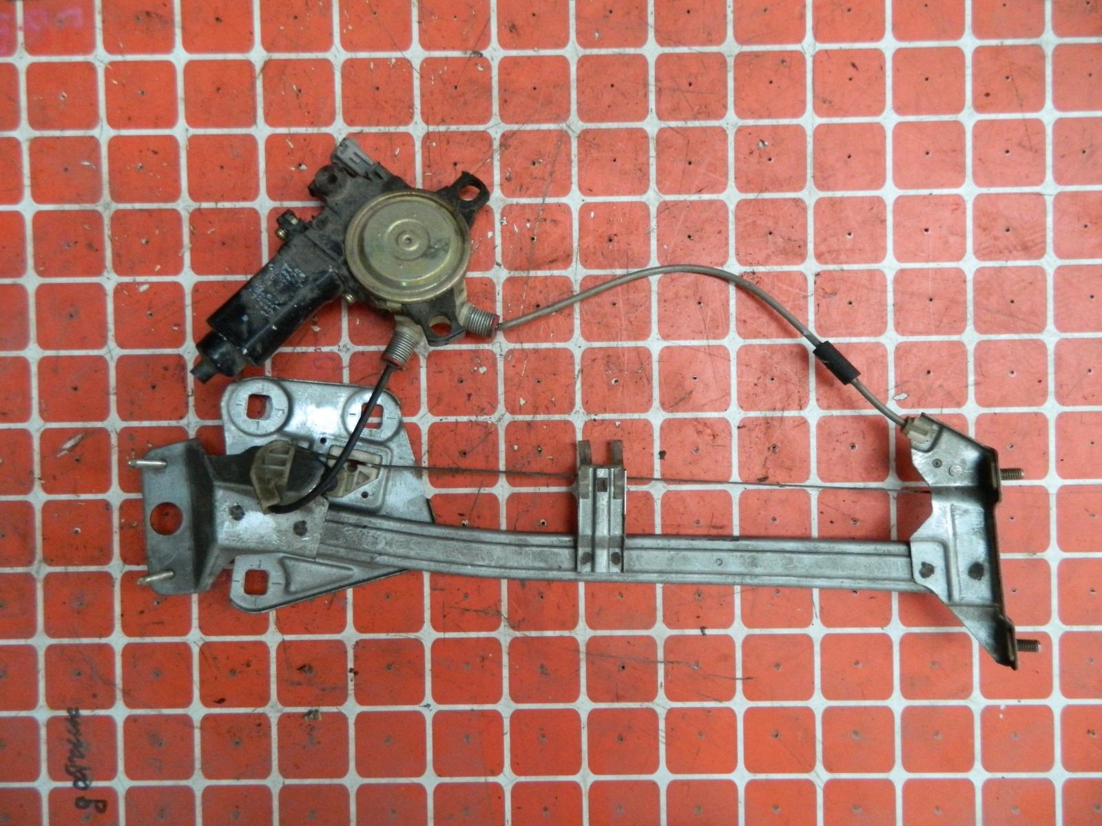 Механизм стекло-подъёмника. Toyota Ceres задний левый (б/у)