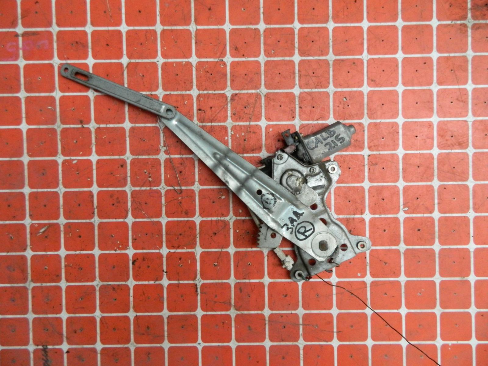 Механизм стекло-подъёмника. Toyota Caldina ST215 задний правый (б/у)