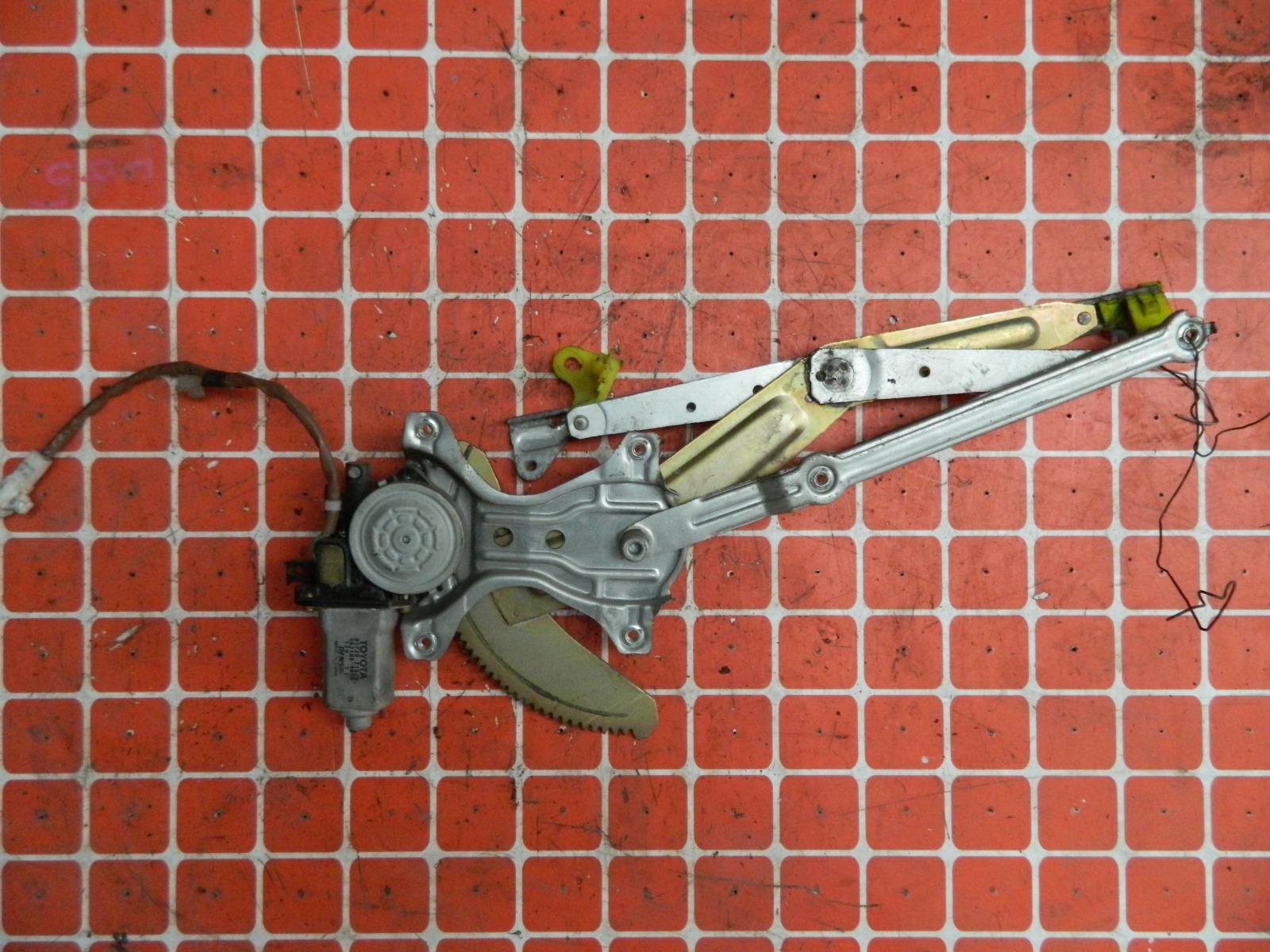 Механизм стекло-подъёмника. Toyota Caldina ST215 передний левый (б/у)