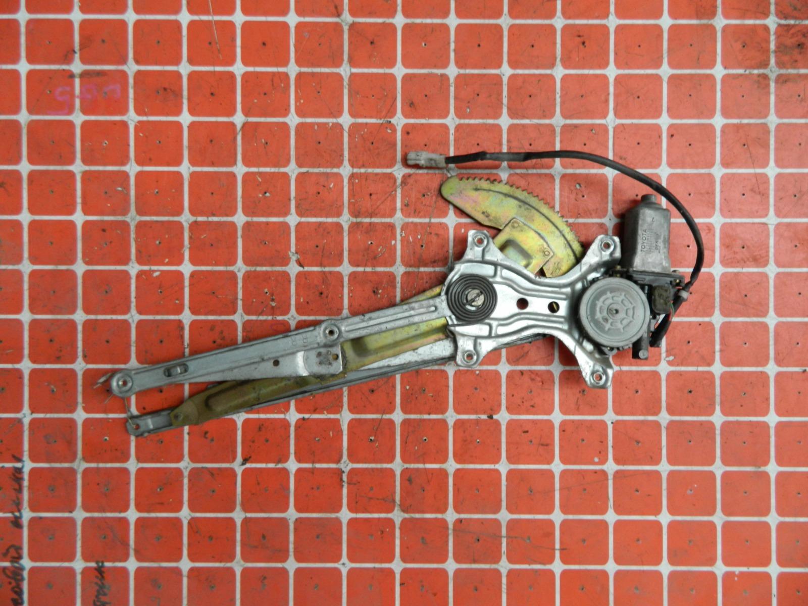 Механизм стекло-подъёмника. Toyota Ipsum SXM10 задний левый (б/у)