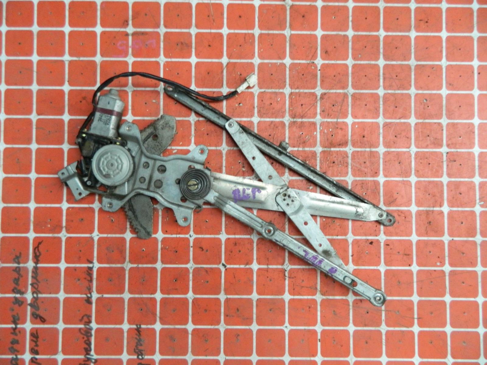 Механизм стекло-подъёмника. Toyota Lucida CXR21 задний правый (б/у)