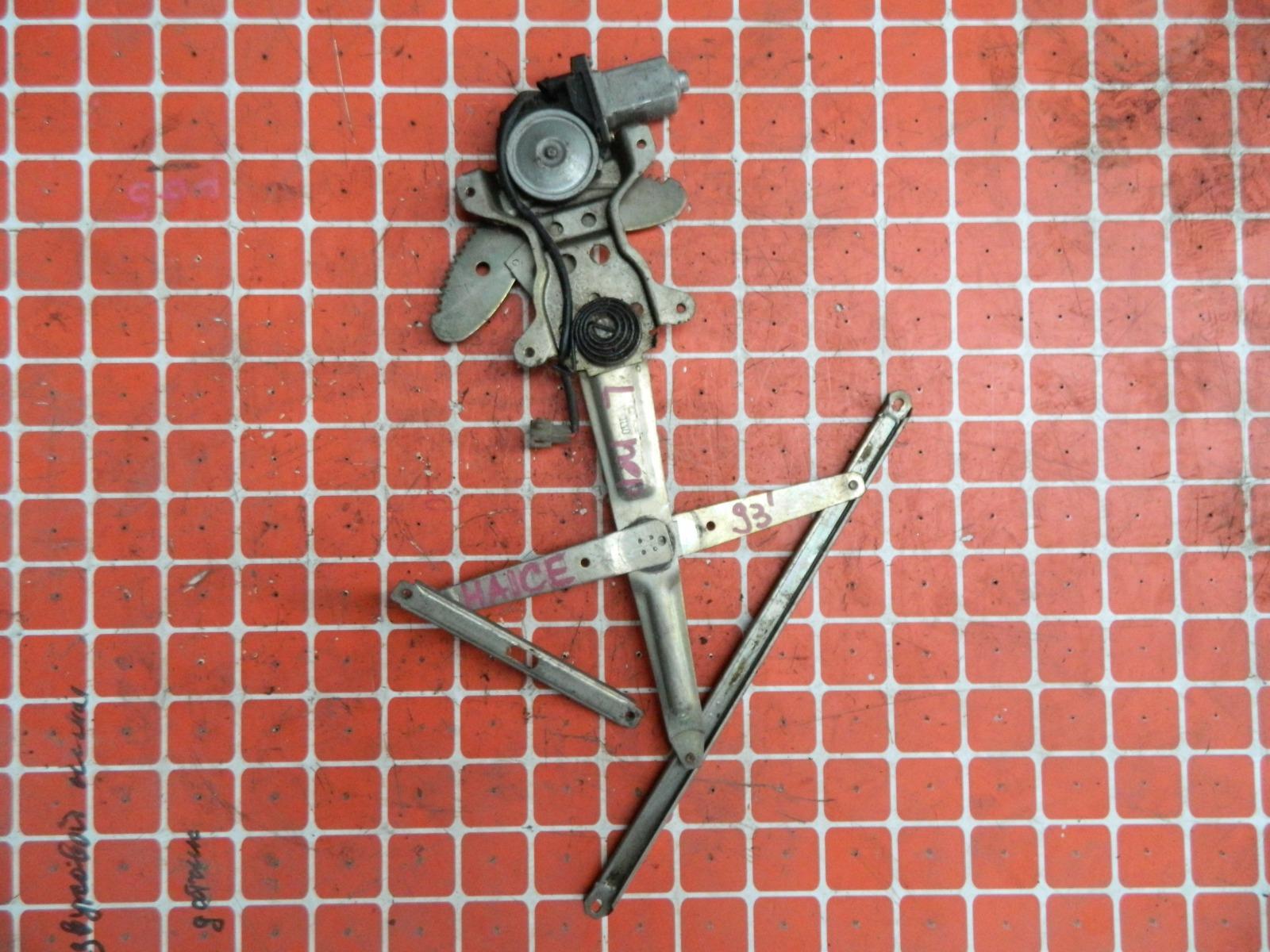 Механизм стекло-подъёмника. Toyota Hiace LH100 передний левый (б/у)