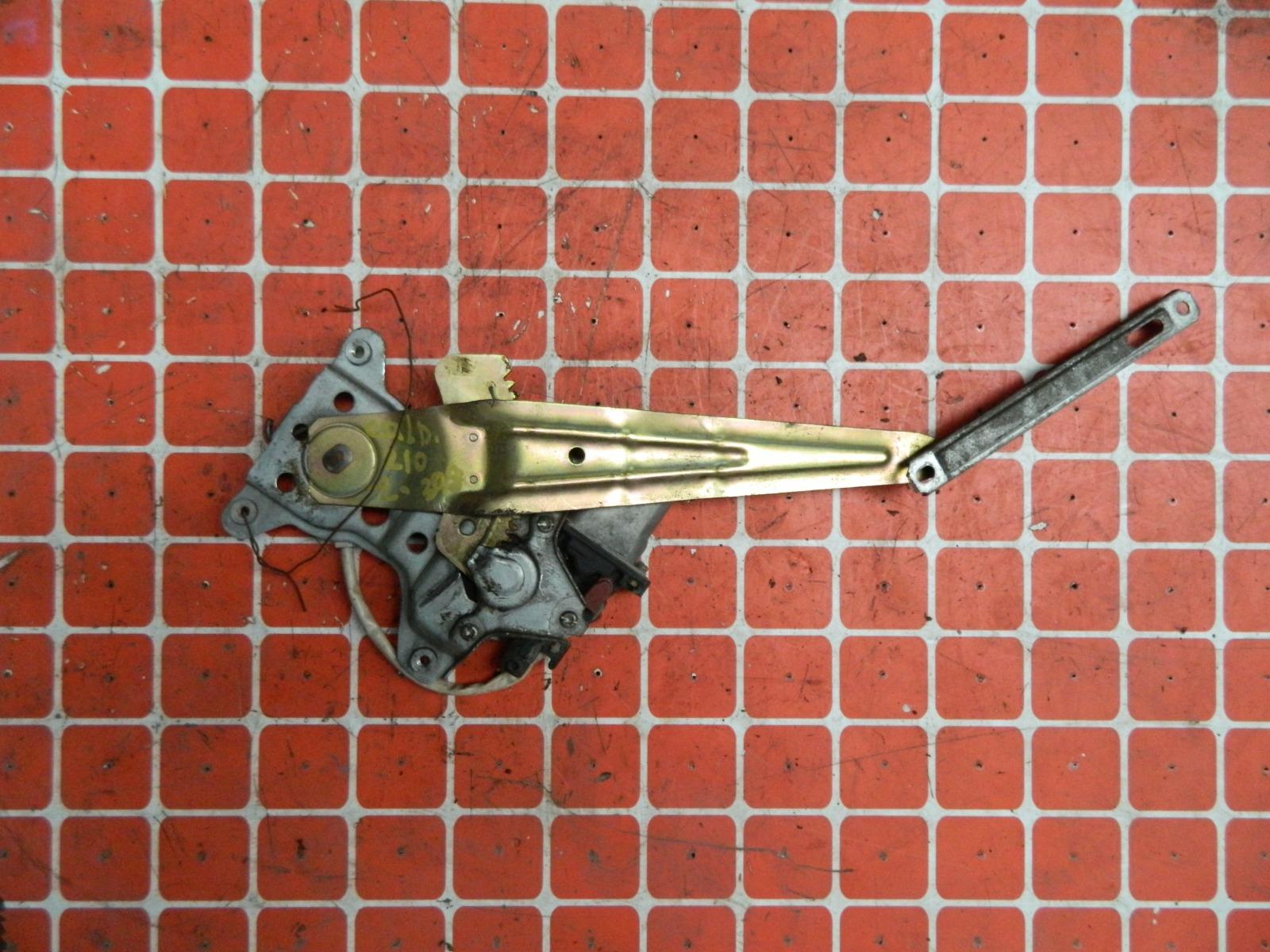 Механизм стекло-подъёмника. Toyota Caldina ST210 задний левый (б/у)