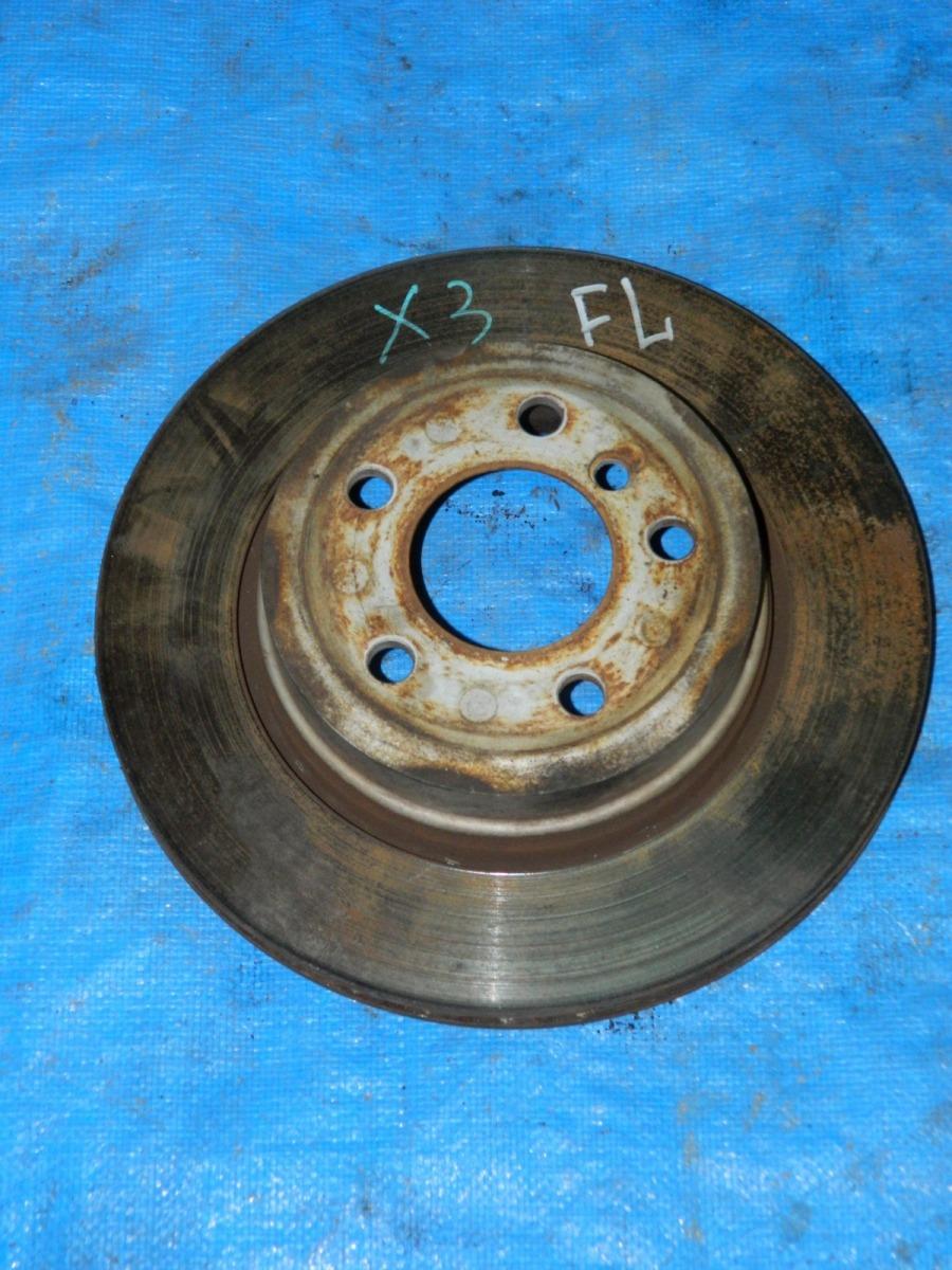 Тормозной диск Bmw X3 задний левый (б/у)