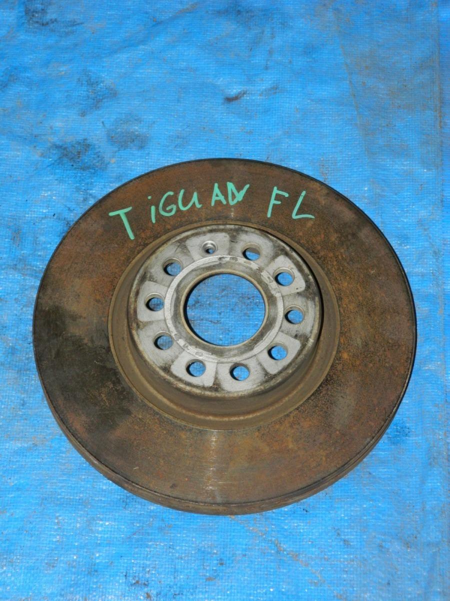 Тормозной диск Volkswagen Tiguan передний левый (б/у)