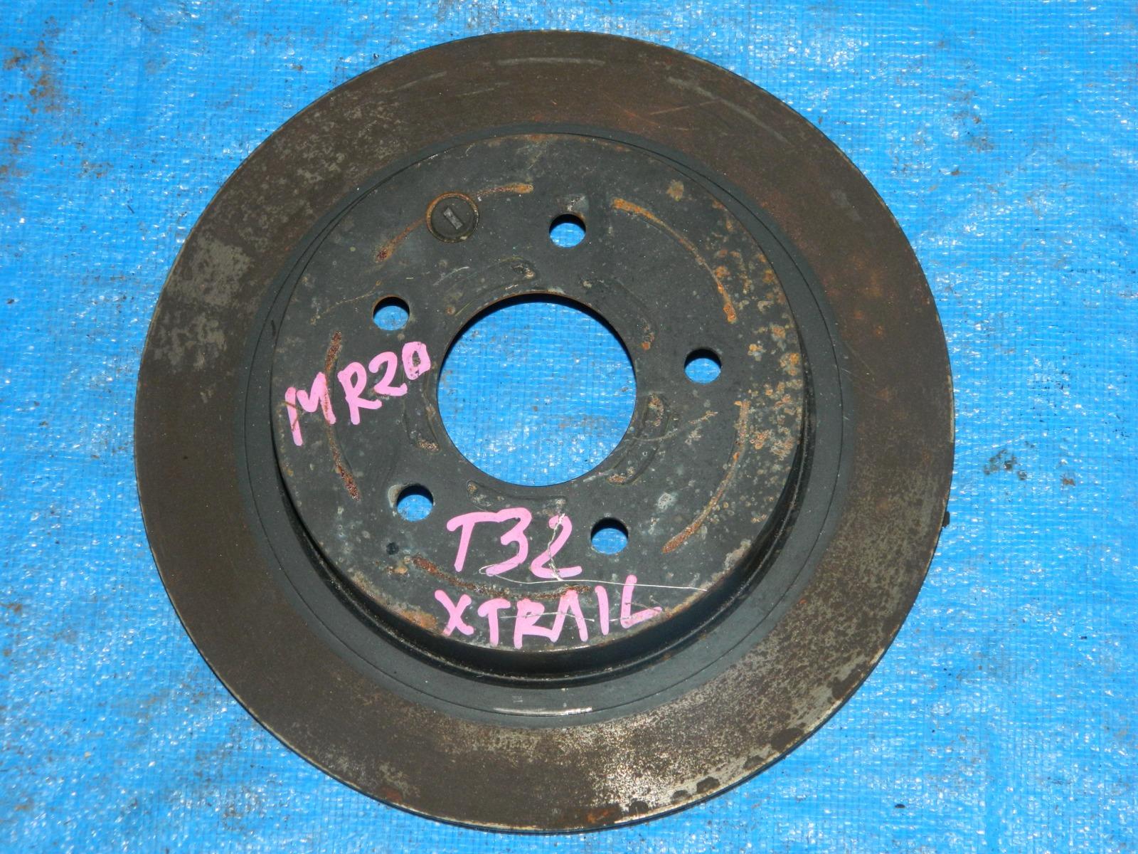 Тормозной диск Nissan X-Trail T32 (б/у)