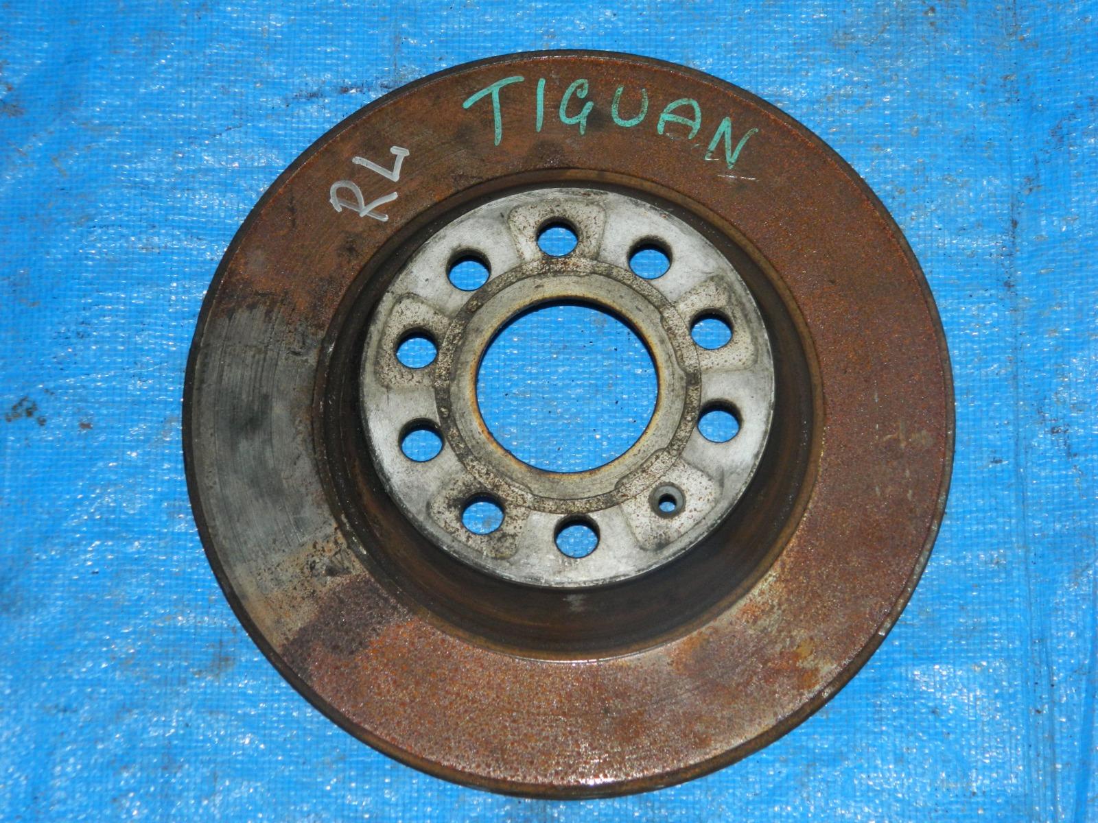 Тормозной диск Volkswagen Tiguan задний левый (б/у)