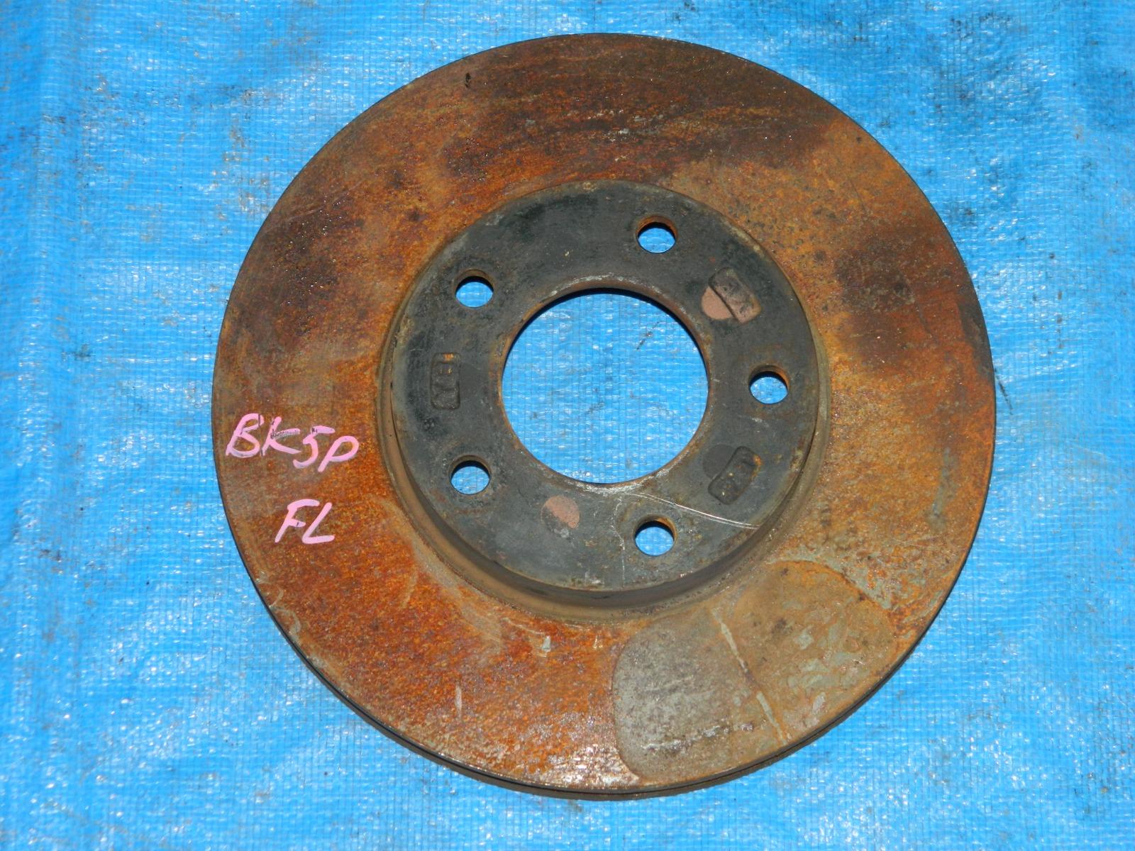 Тормозной диск Mazda Axela BK5P передний левый (б/у)