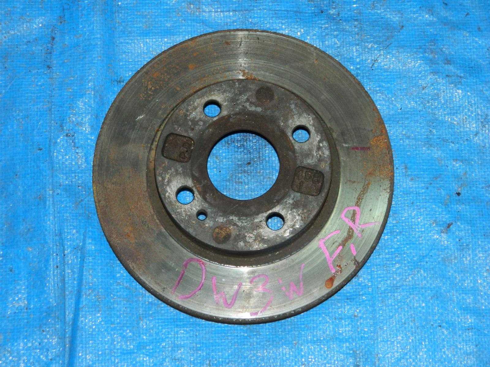 Тормозной диск Mazda Demio DW3W передний правый (б/у)