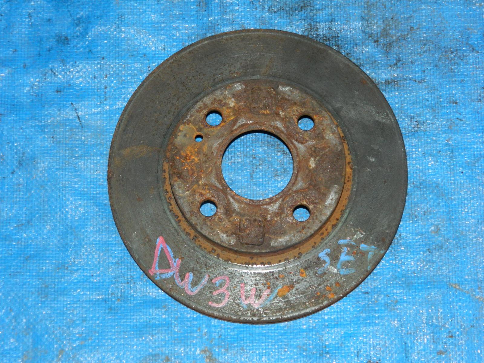 Тормозной диск Mazda Demio DW3W (б/у)