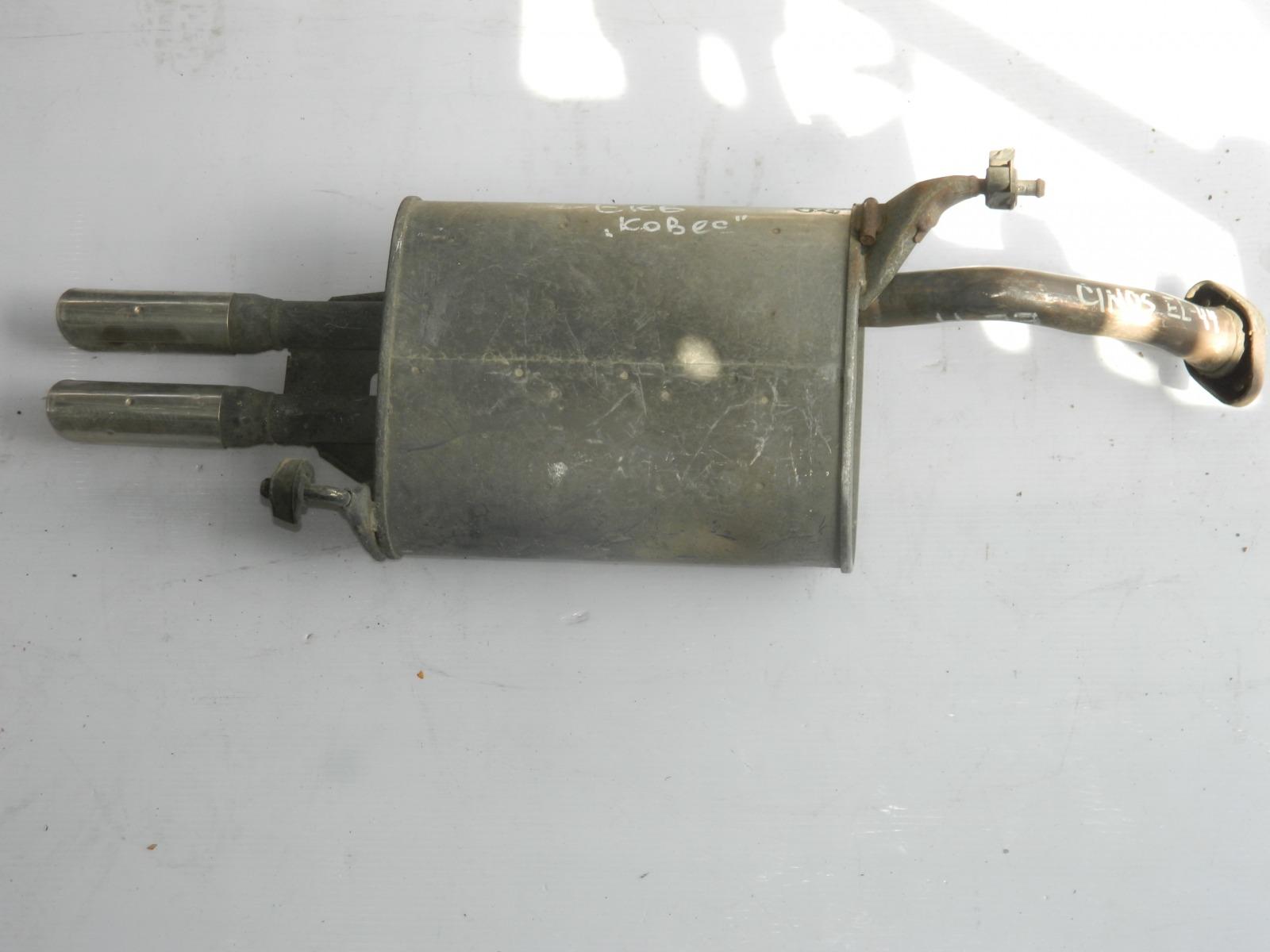 Глушитель Toyota Cynos EL44 (б/у)