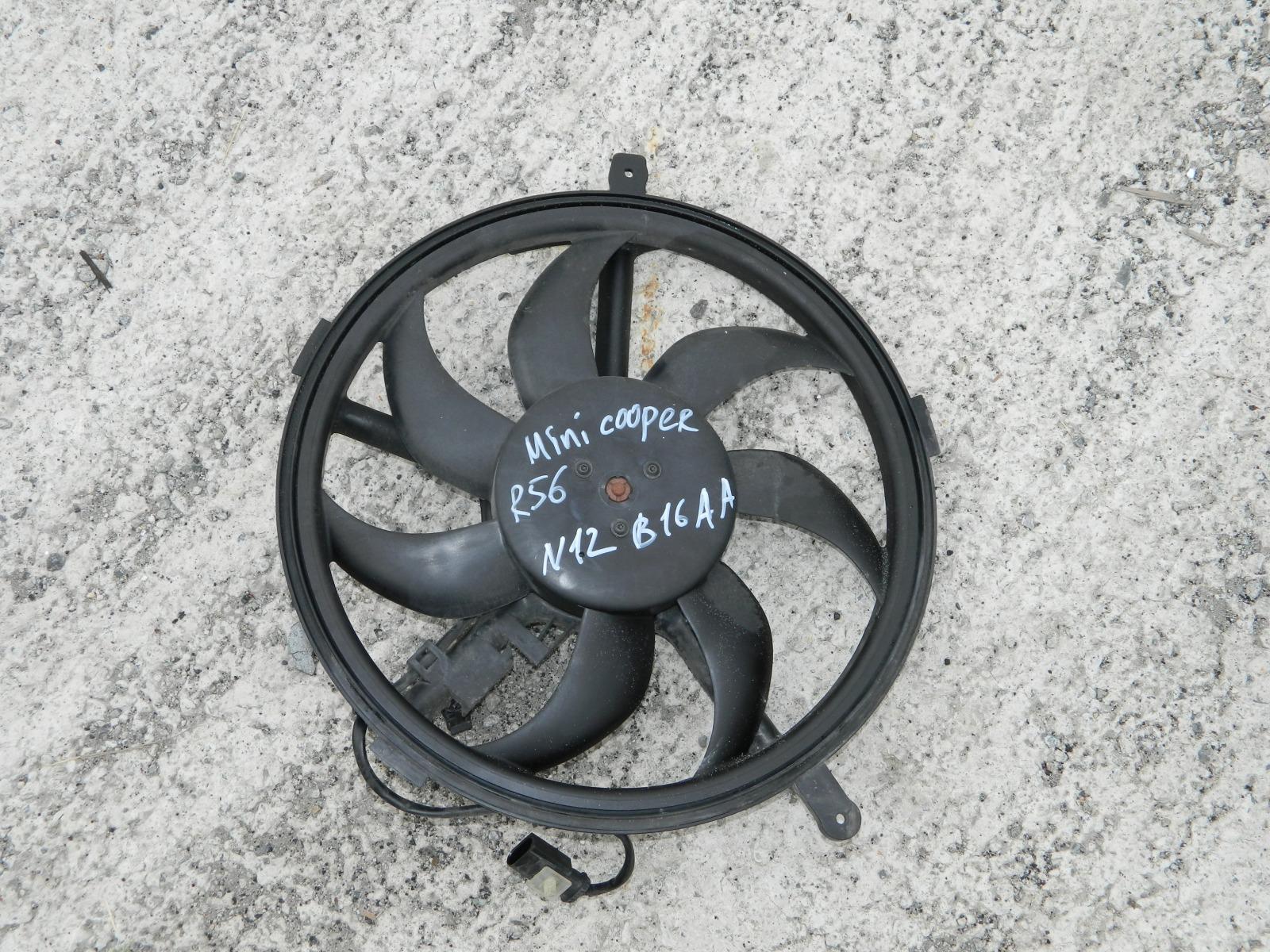 Вентилятор радиатора Mini Cooper R56 (б/у)