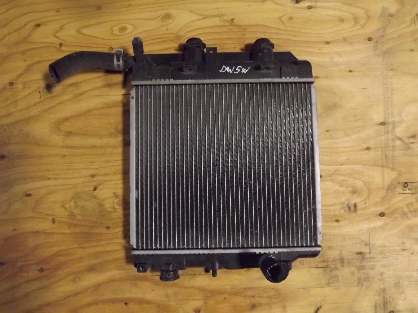 Радиатор двс Mazda Demio DW5W (б/у)