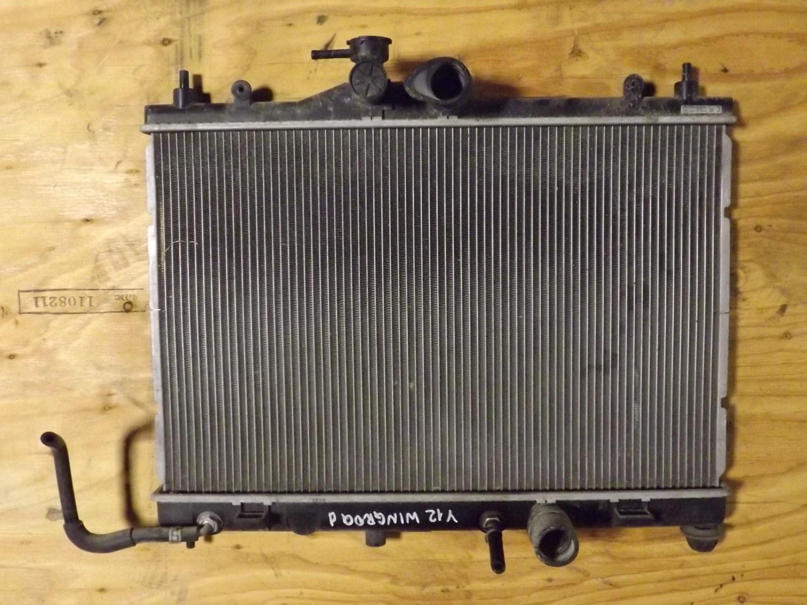 Радиатор двс Nissan Wingroad Y12 (б/у)