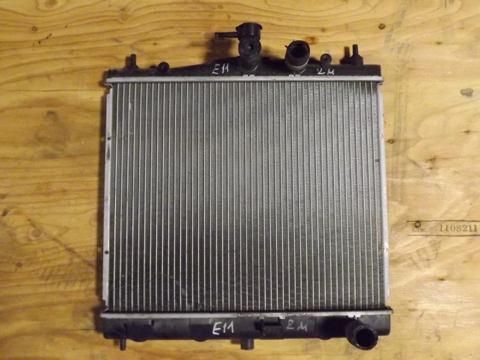 Радиатор двс Nissan Note E11 (б/у)