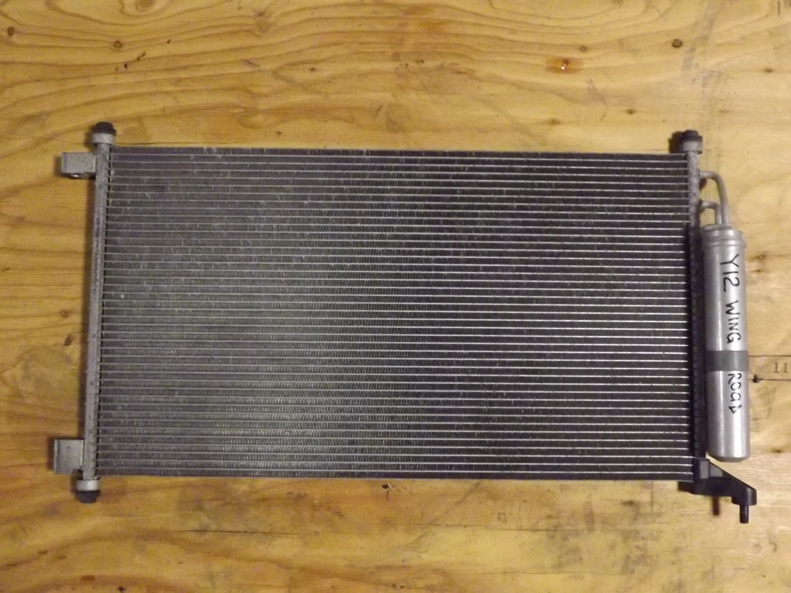 Радиатор кондиционера Nissan Wingroad Y12 (б/у)