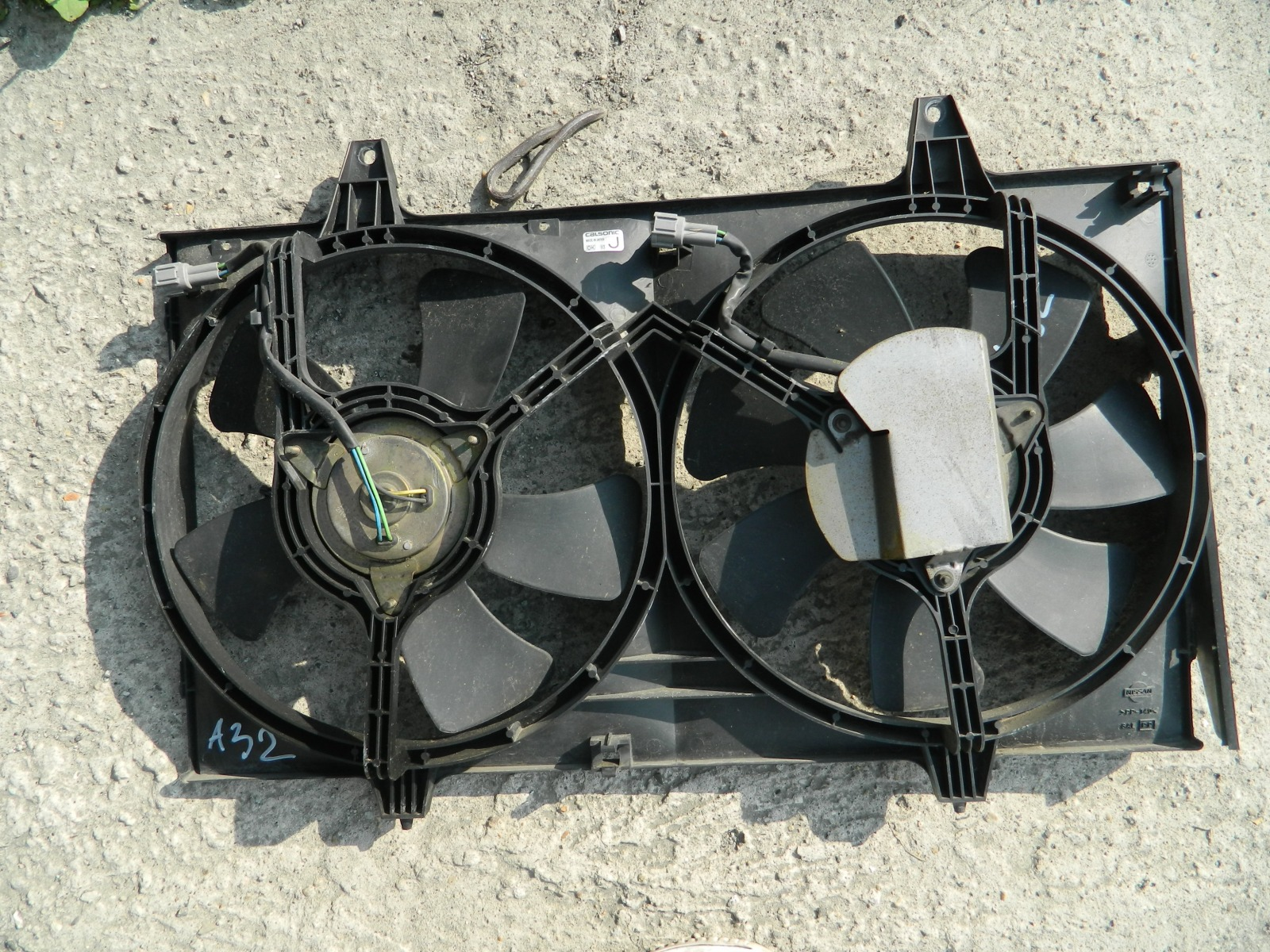 Диффузор радиатора Nissan Cefiro A32 (б/у)
