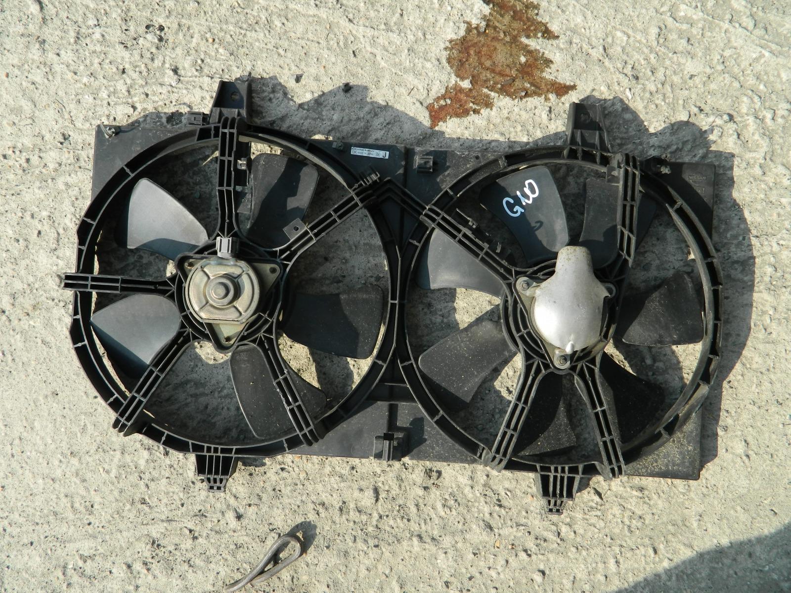 Диффузор радиатора Nissan Bluebird Sylphy G10 (б/у)