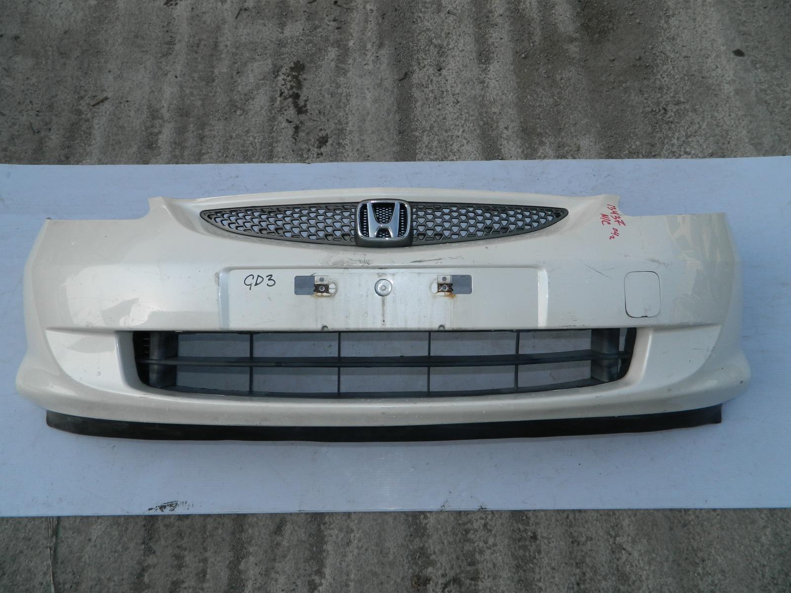 Бампер Honda Fit GD3 передний (б/у)