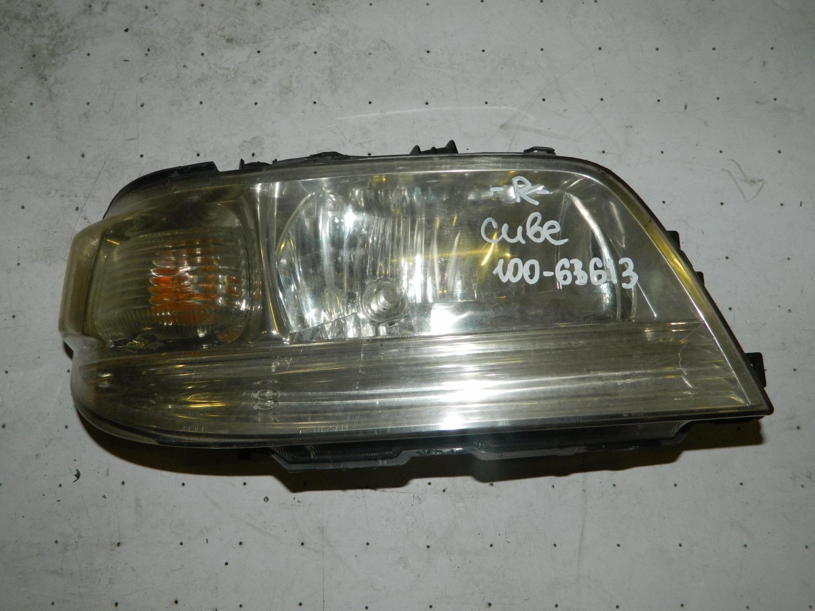 Фара Nissan Cube ANZ10 передняя правая (б/у)