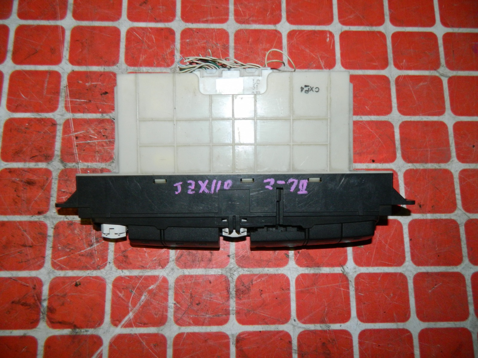 Блок управления климат-контролем Toyota Mark 2 JZX110 (б/у)