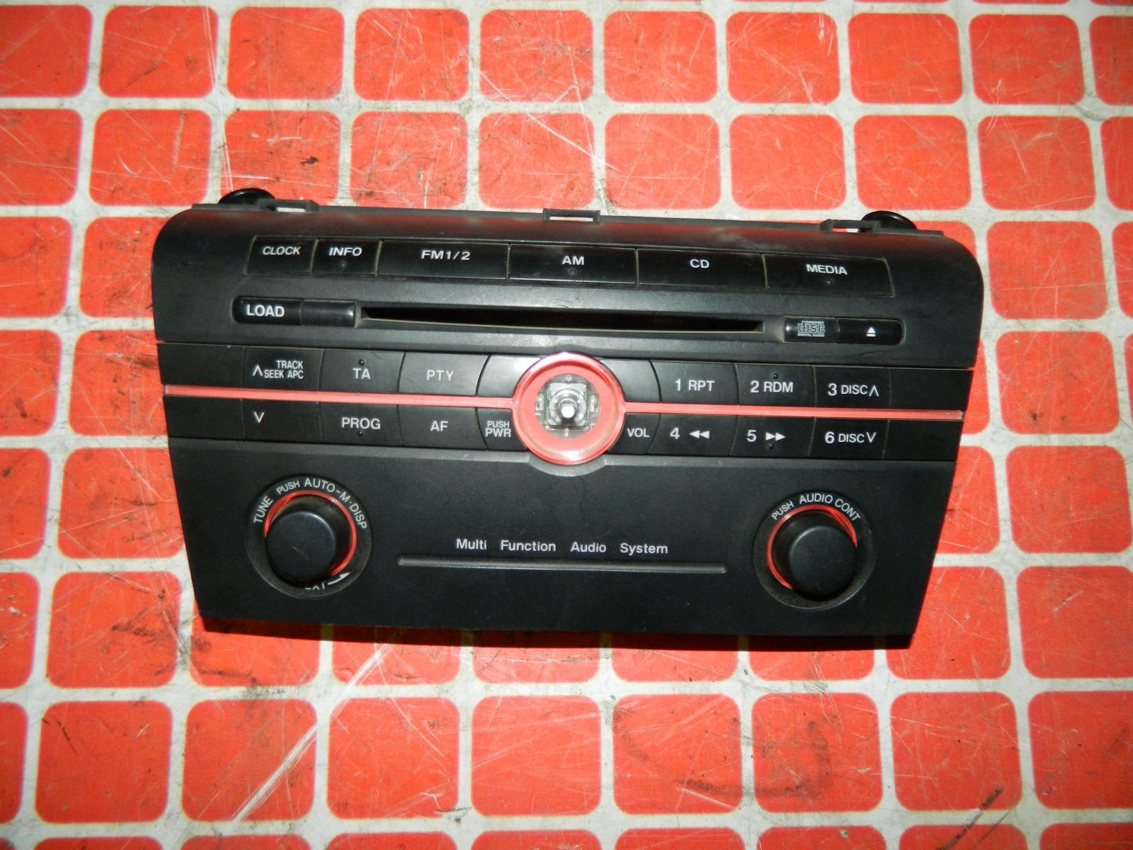 Штатная магнитола Mazda 3 BKEP (б/у)
