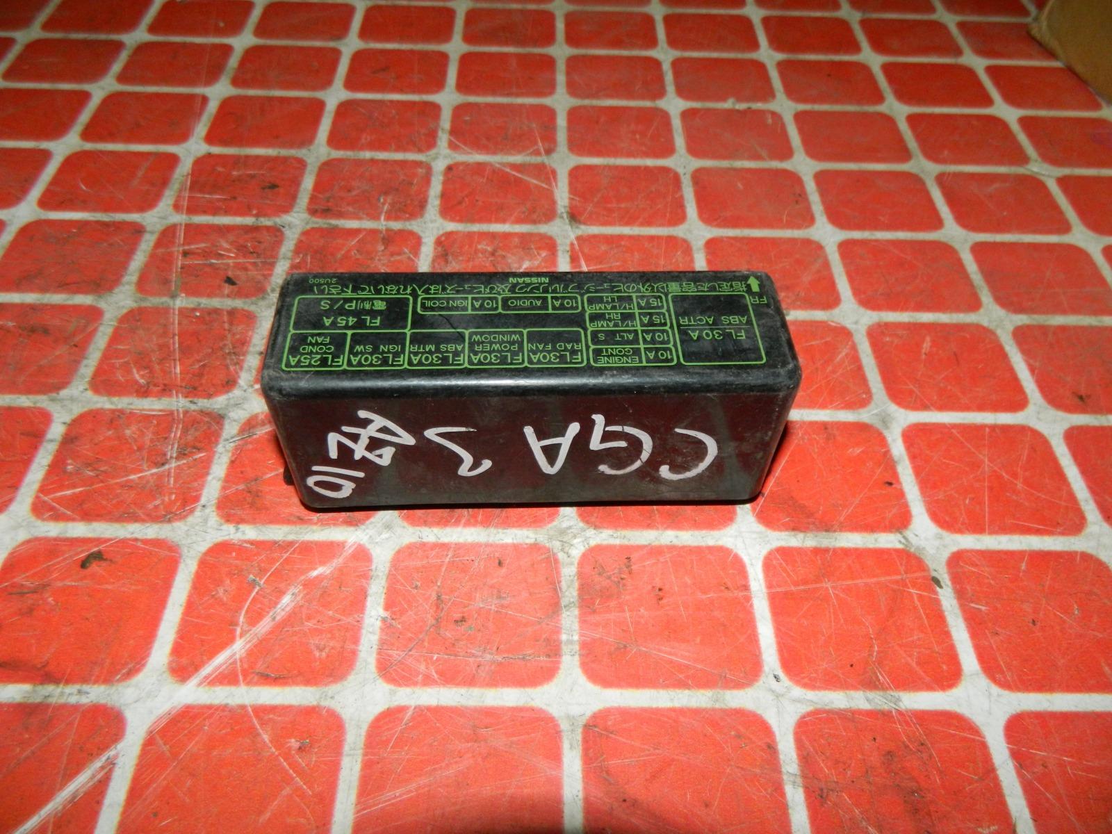 Крышка блока предохранителей Nissan Cube Z10 CGA3 (б/у)